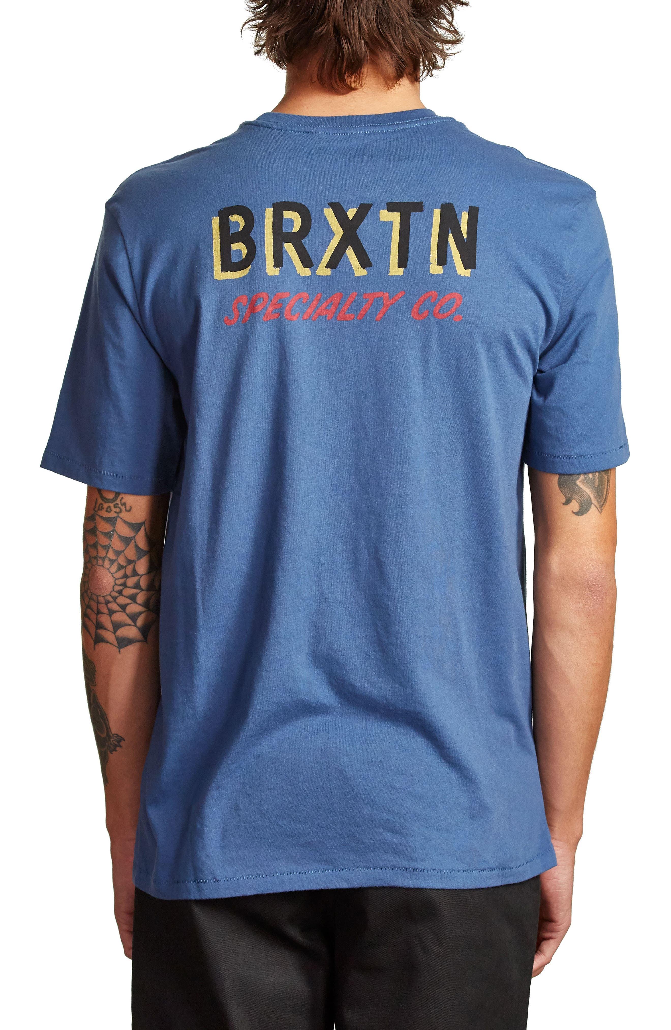 Bodega Graphic T-Shirt,                             Alternate thumbnail 2, color,                             Deep Blue