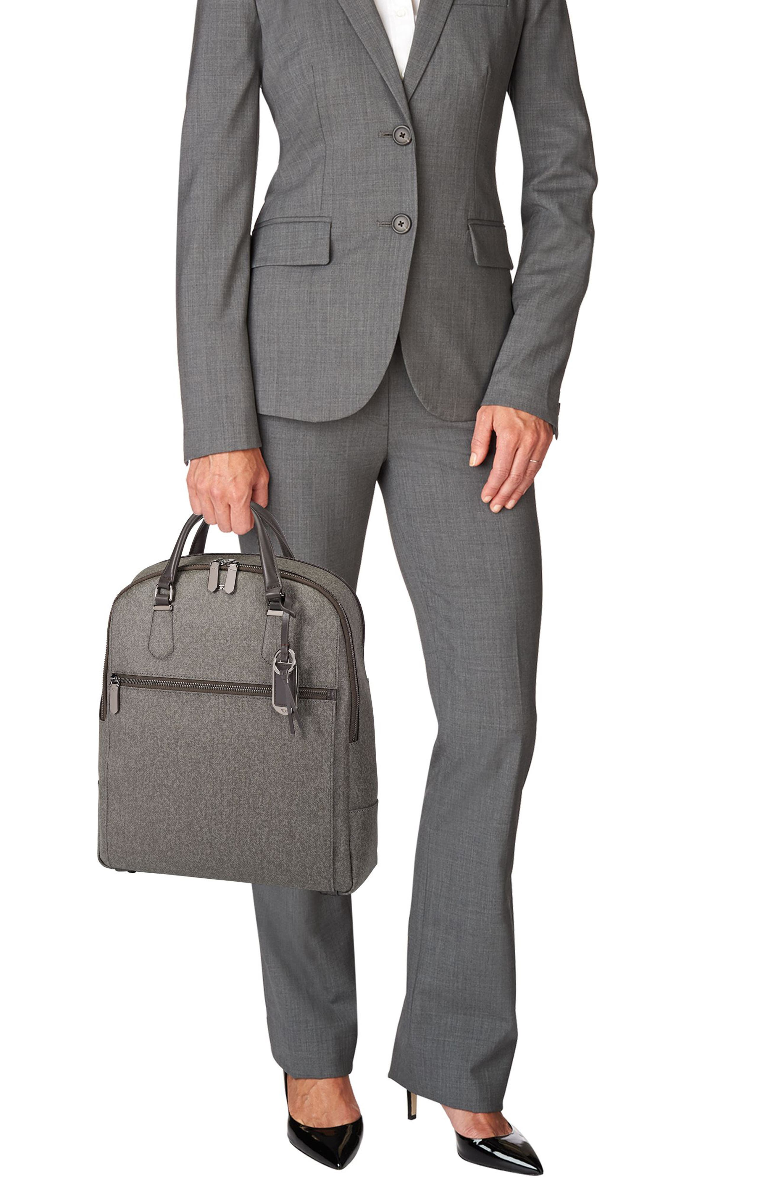 Stanton Orion Coated Canvas Backpack,                             Alternate thumbnail 2, color,                             Earl Grey