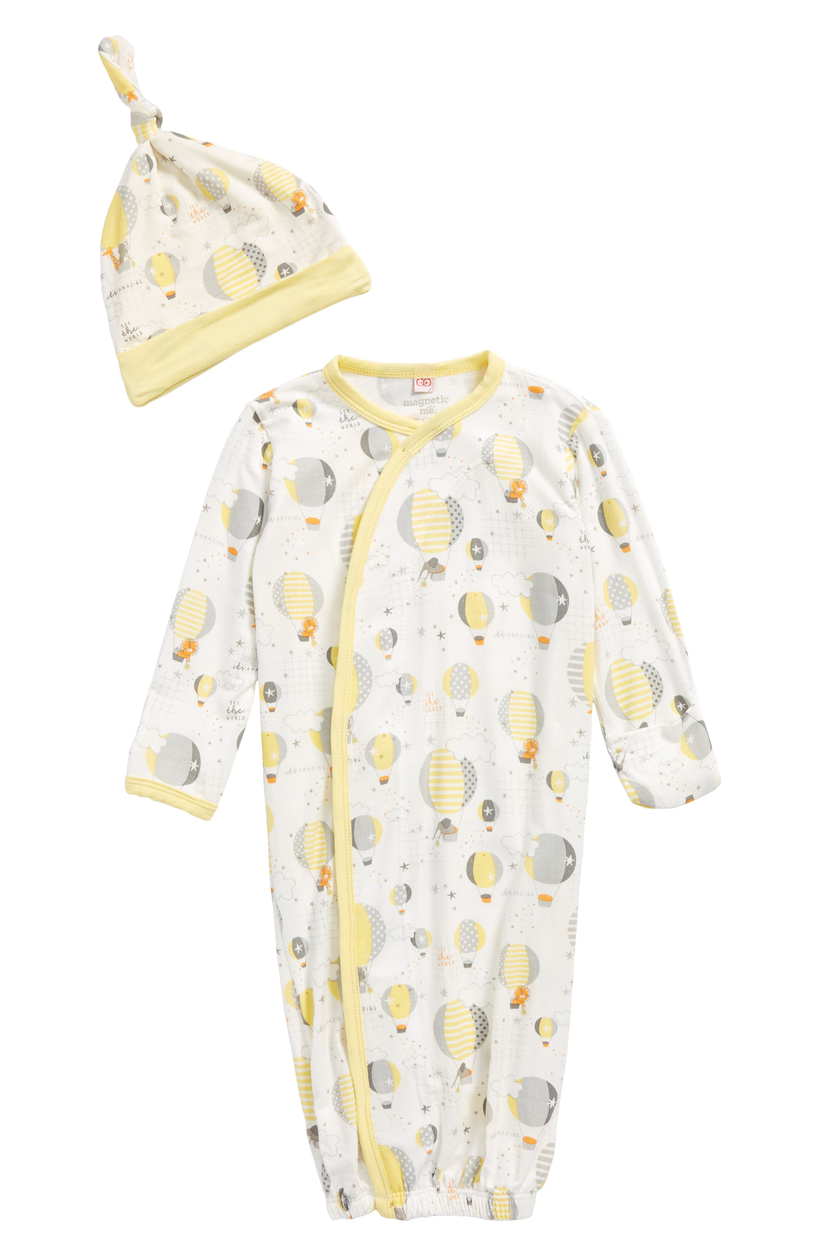 Magnetic Me Up In The Air Gown & Hat Set (Baby)
