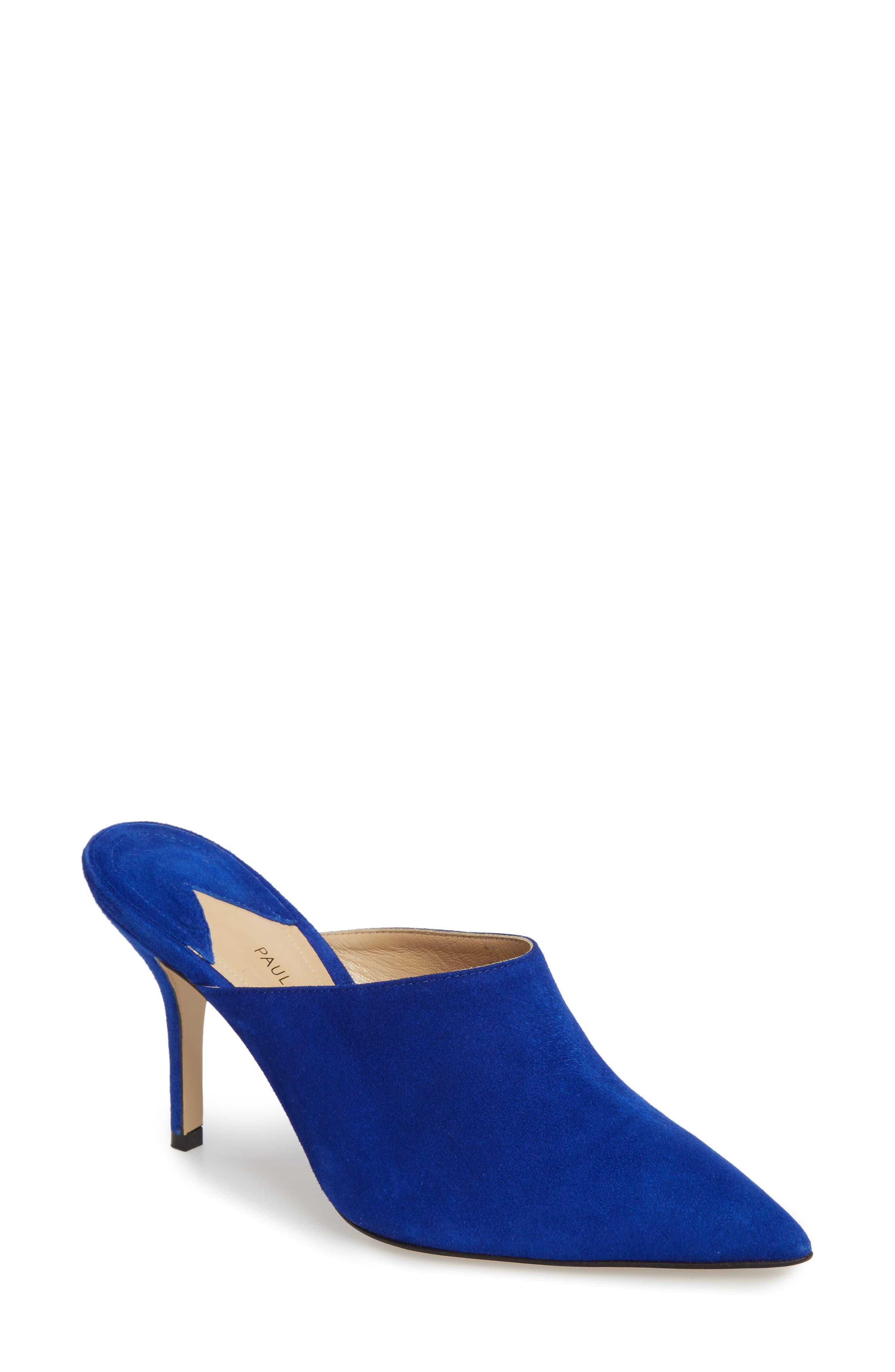 Certosa mules - Blue PAUL ANDREW Ghk0NI54Sc