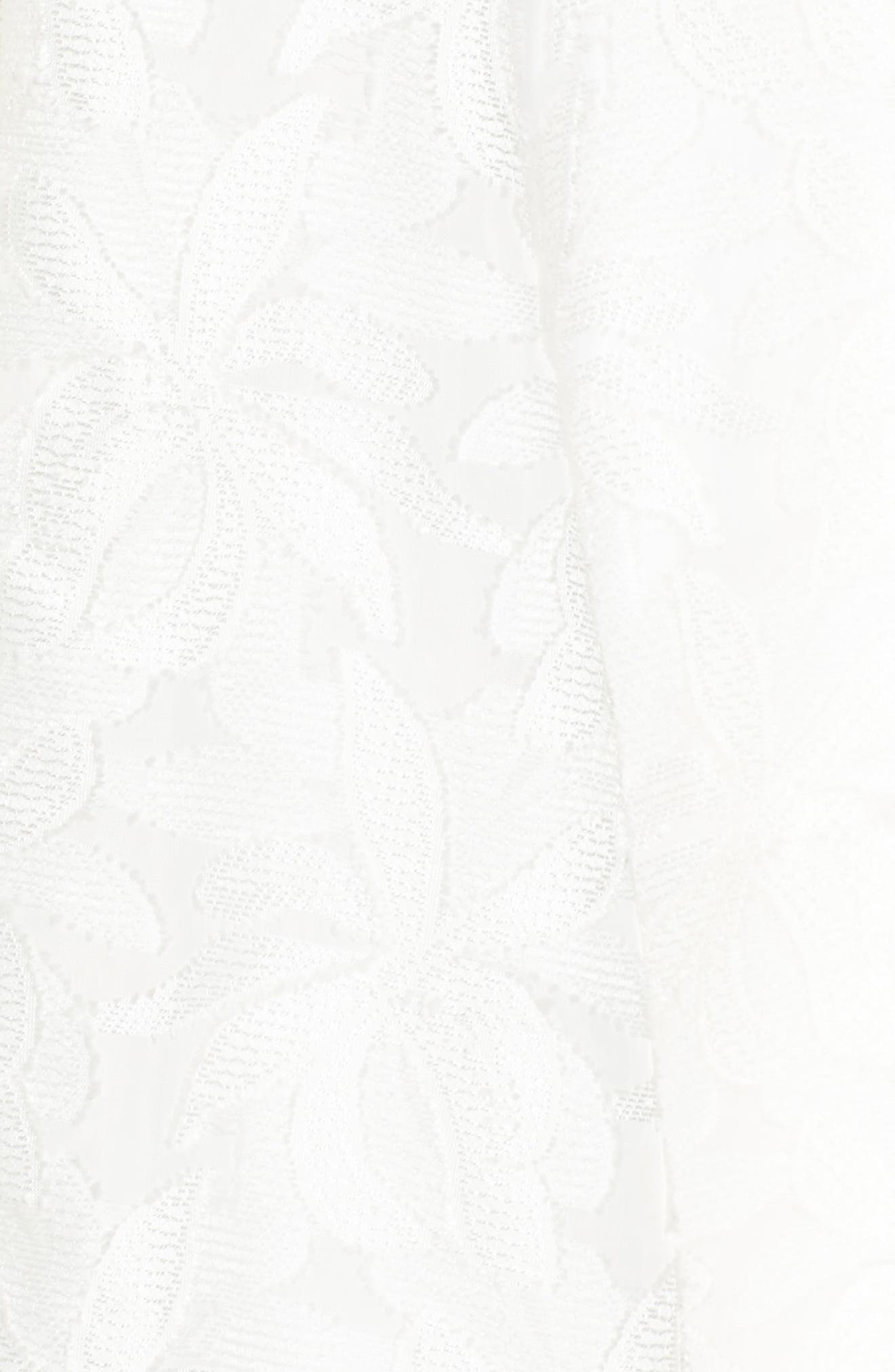 Alternate Image 5  - Maggy London Floral Burnout Fit & Flare Dress (Regular & Petite)