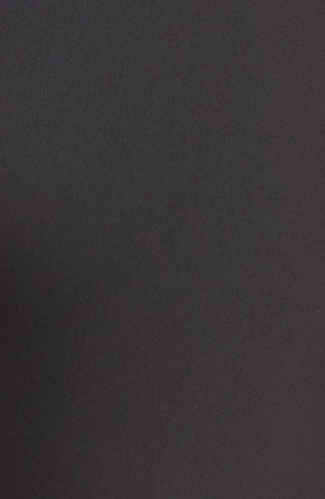 Machina Midi Leggings,                             Alternate thumbnail 6, color,                             Black
