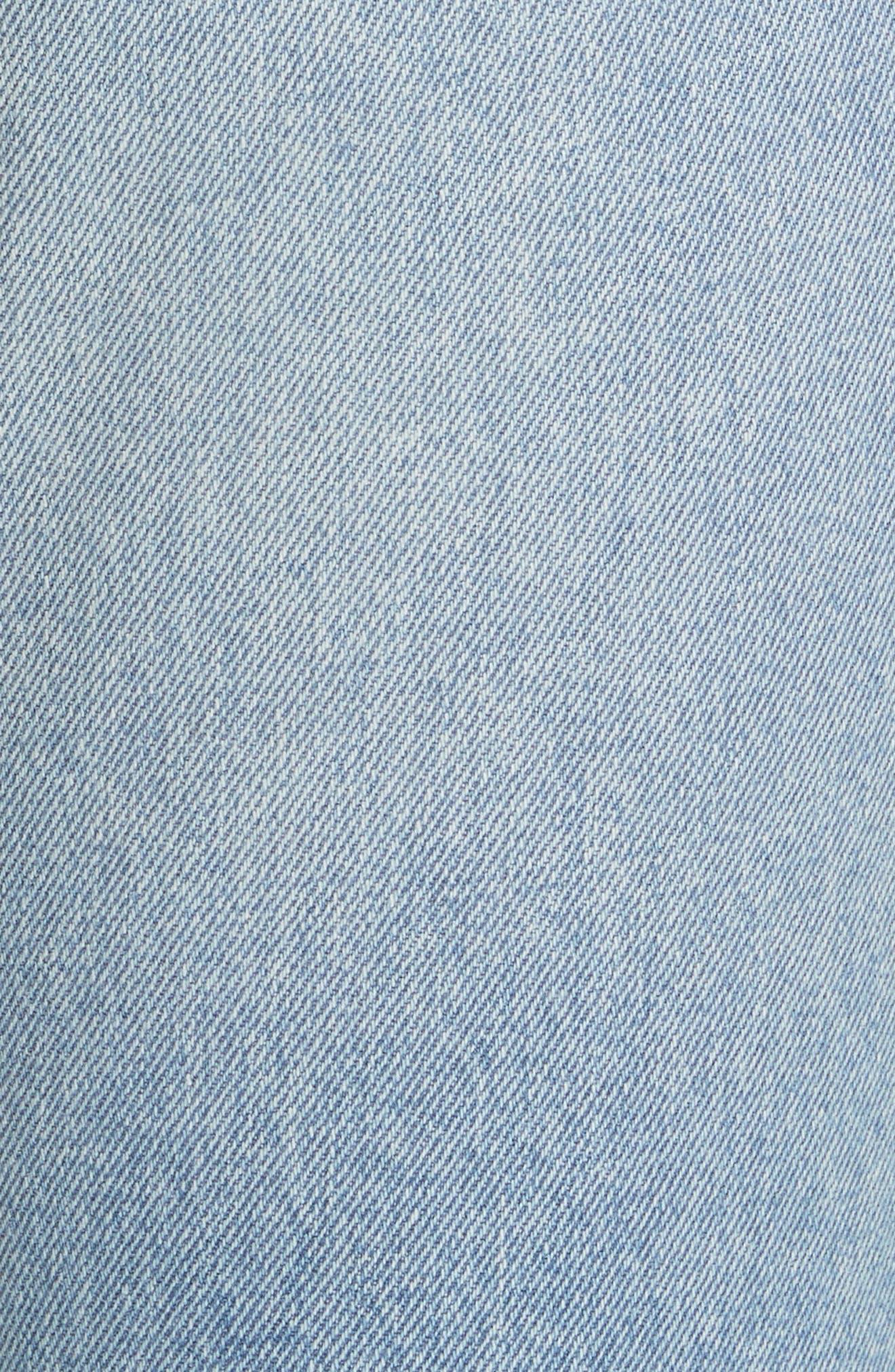 Karolina Ripped Skinny Jeans,                             Alternate thumbnail 4, color,                             Treasure