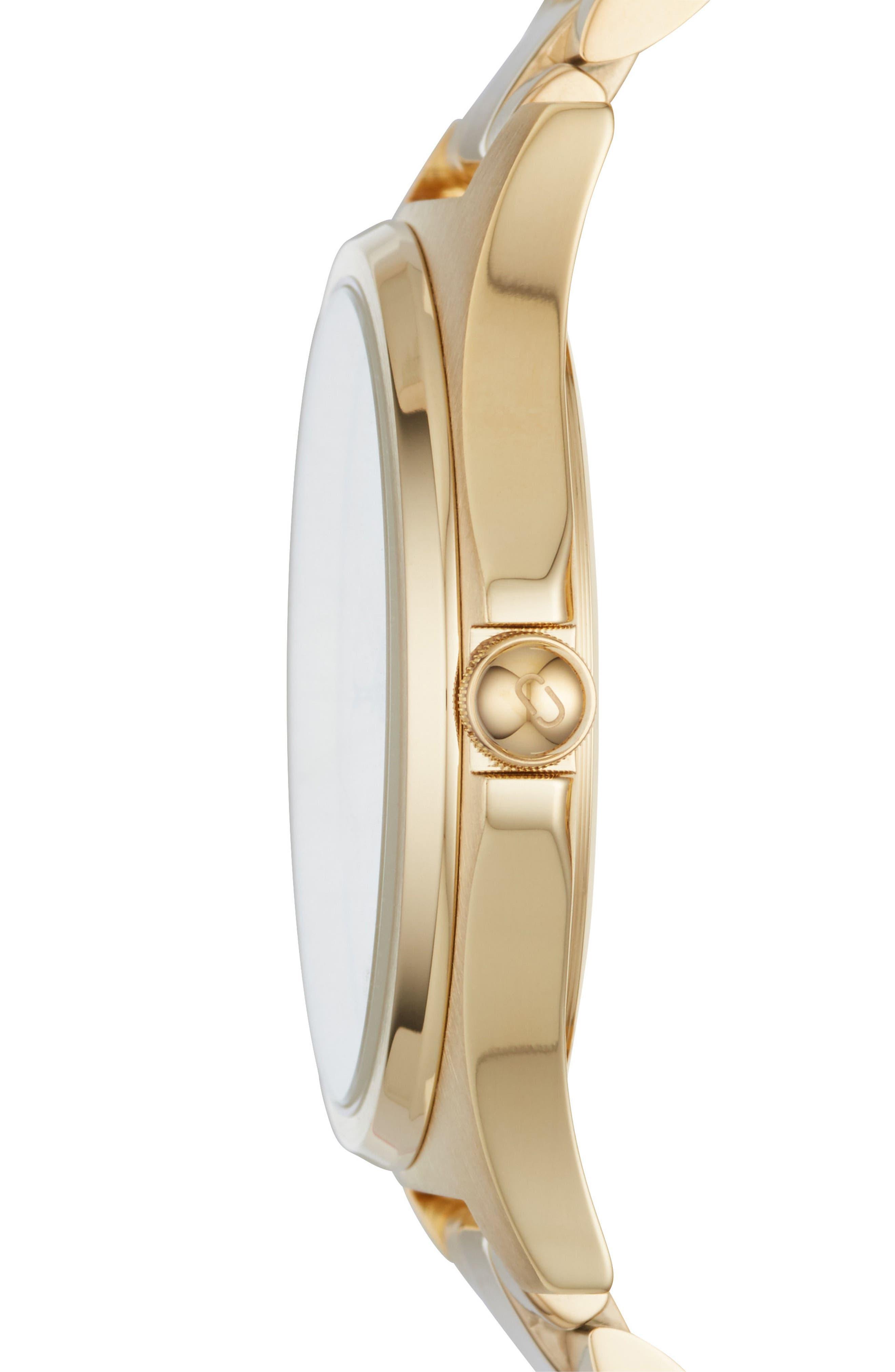 Henry Bracelet Watch, 39mm,                             Alternate thumbnail 2, color,                             Gold