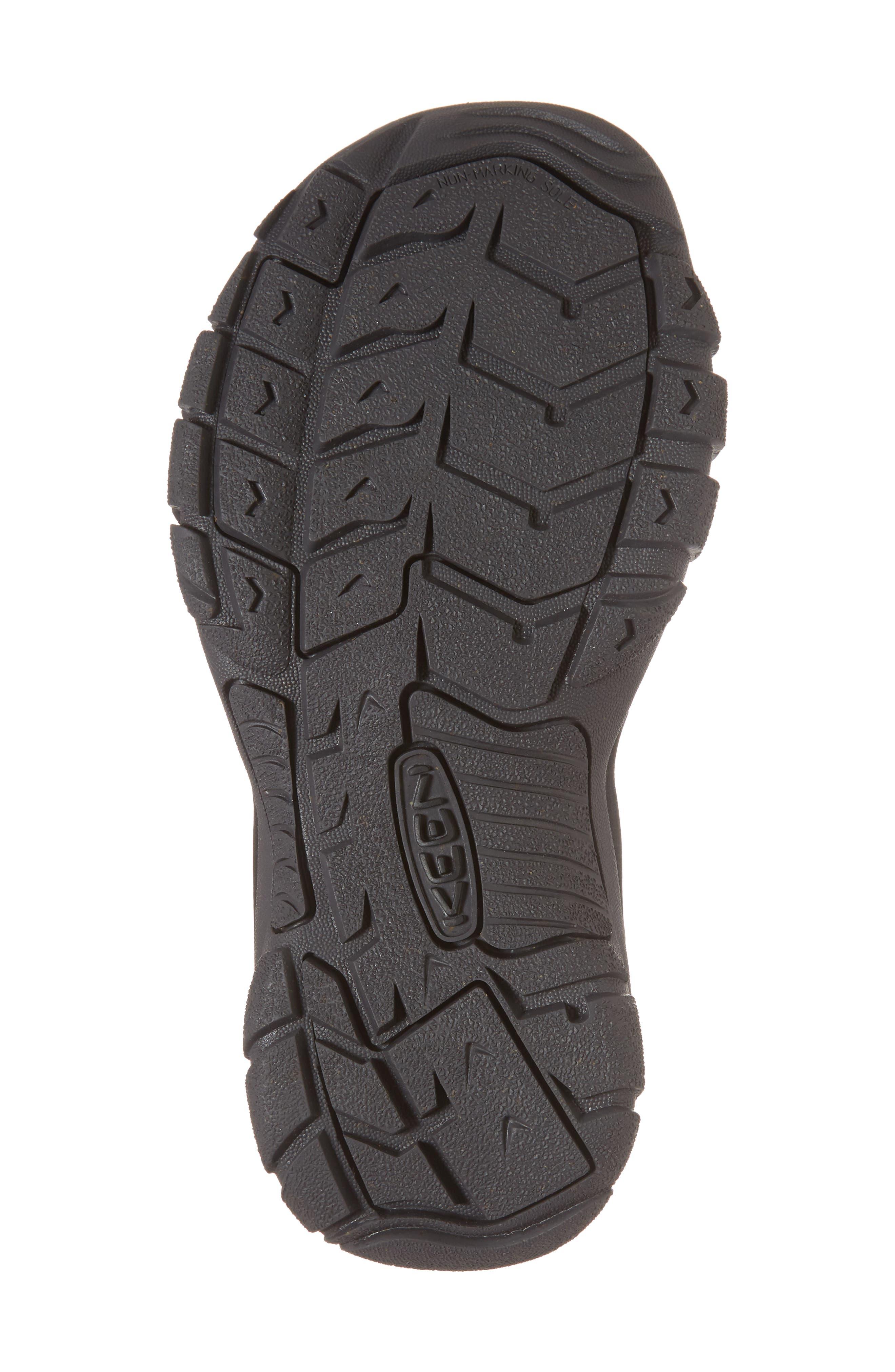 Newport Eco Waterproof Sandal,                             Alternate thumbnail 6, color,                             Black/ Magnet