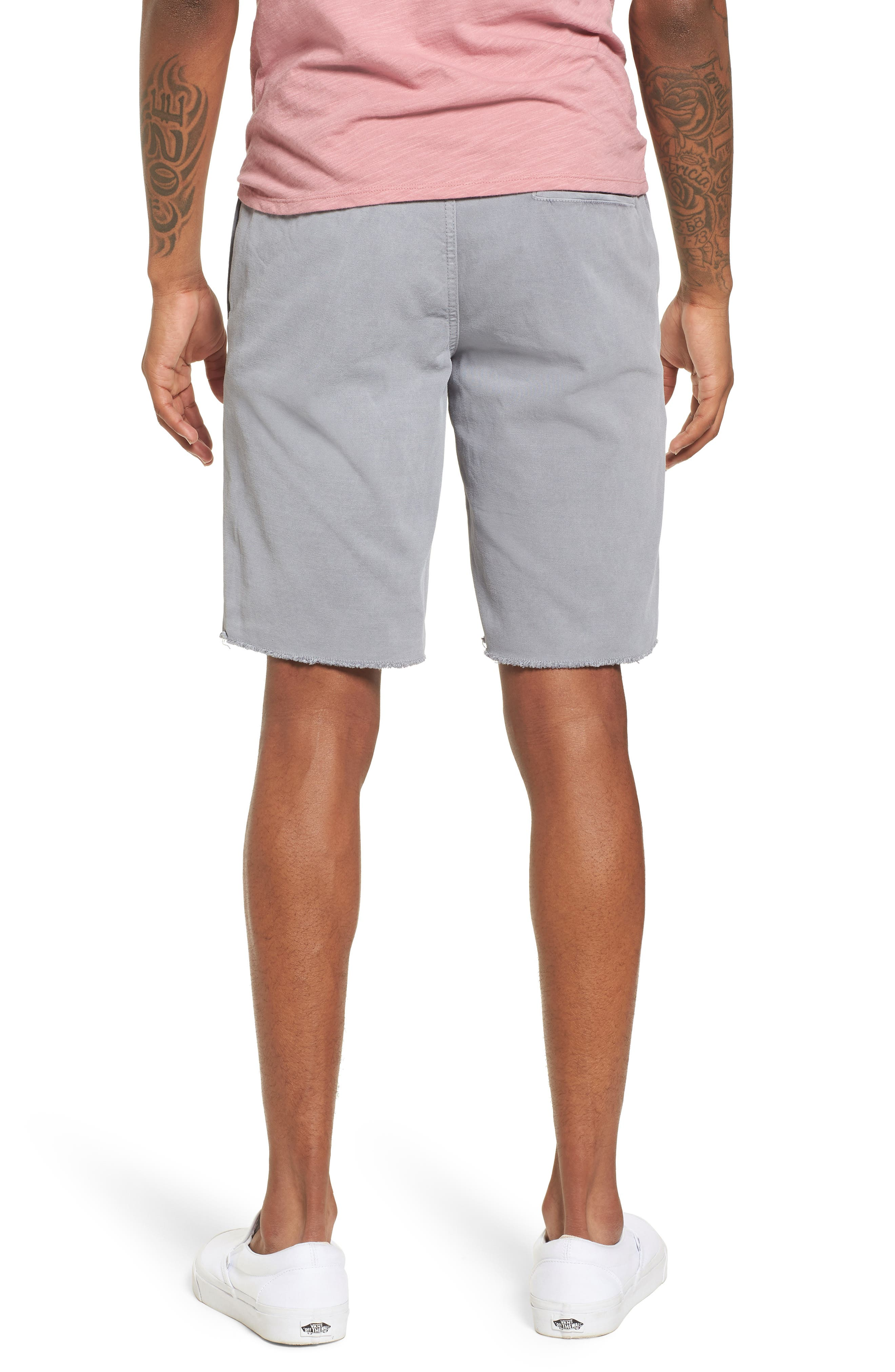 Frost Wash Shorts,                             Alternate thumbnail 2, color,                             Grey Sleet