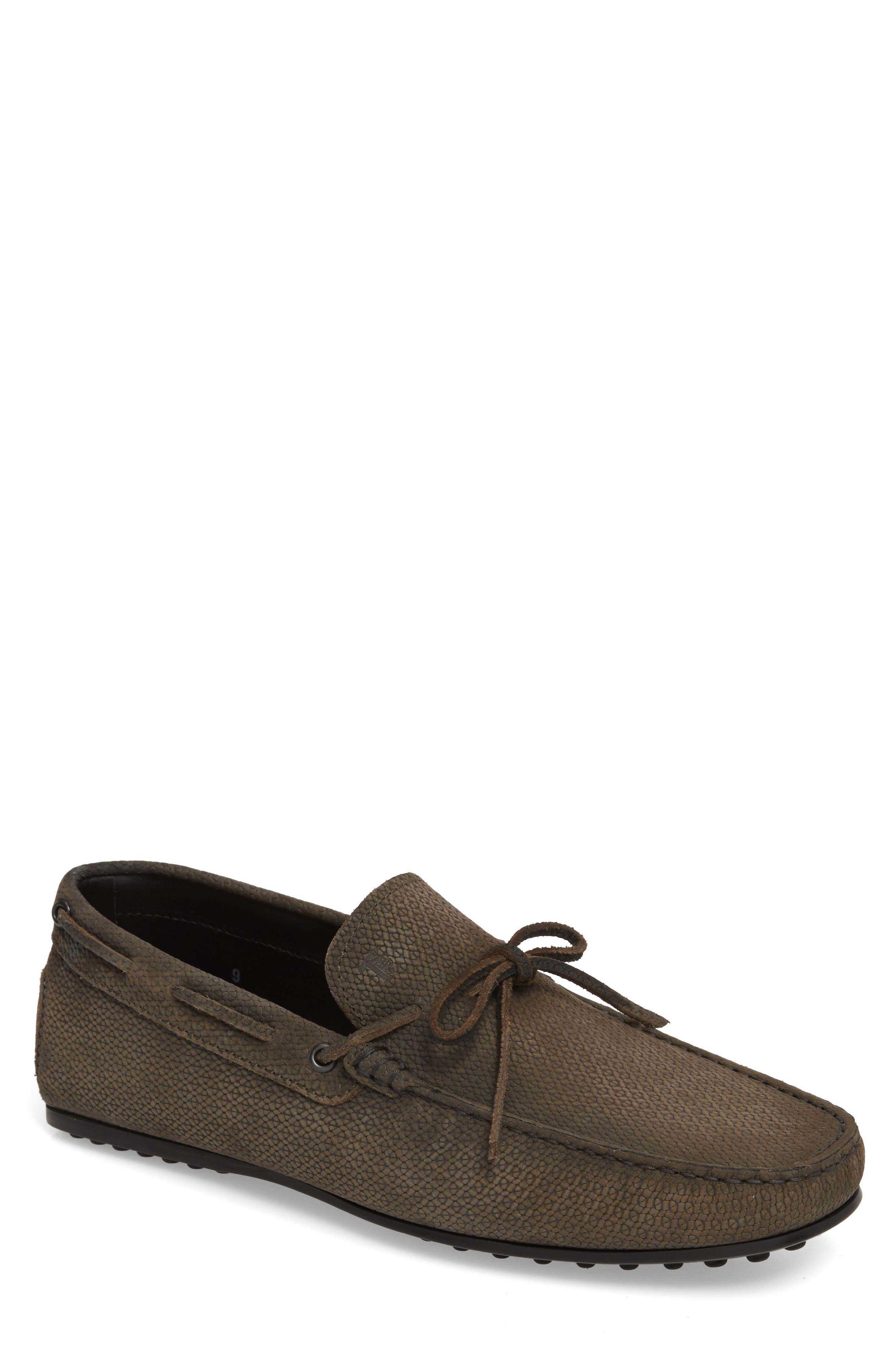 Tod's City Tie Gommini Driving Moccasin (Men)