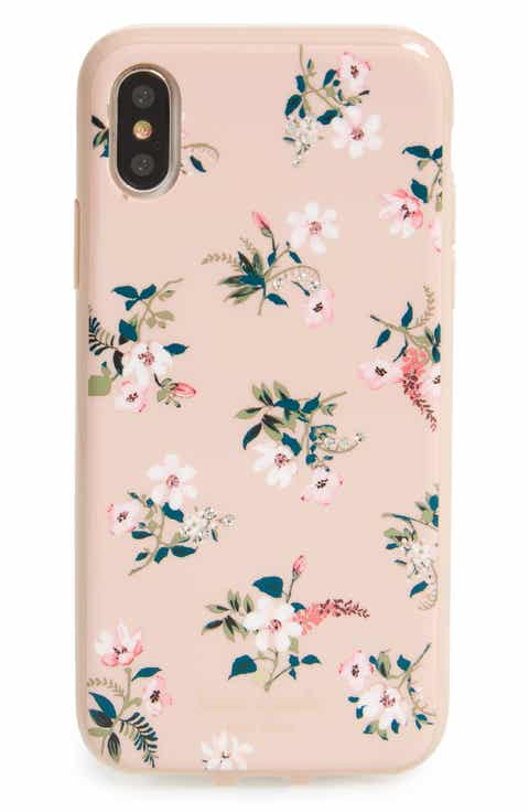 Kate spade new york for women nordstrom kate spade new york jeweled flora iphone x case negle Images