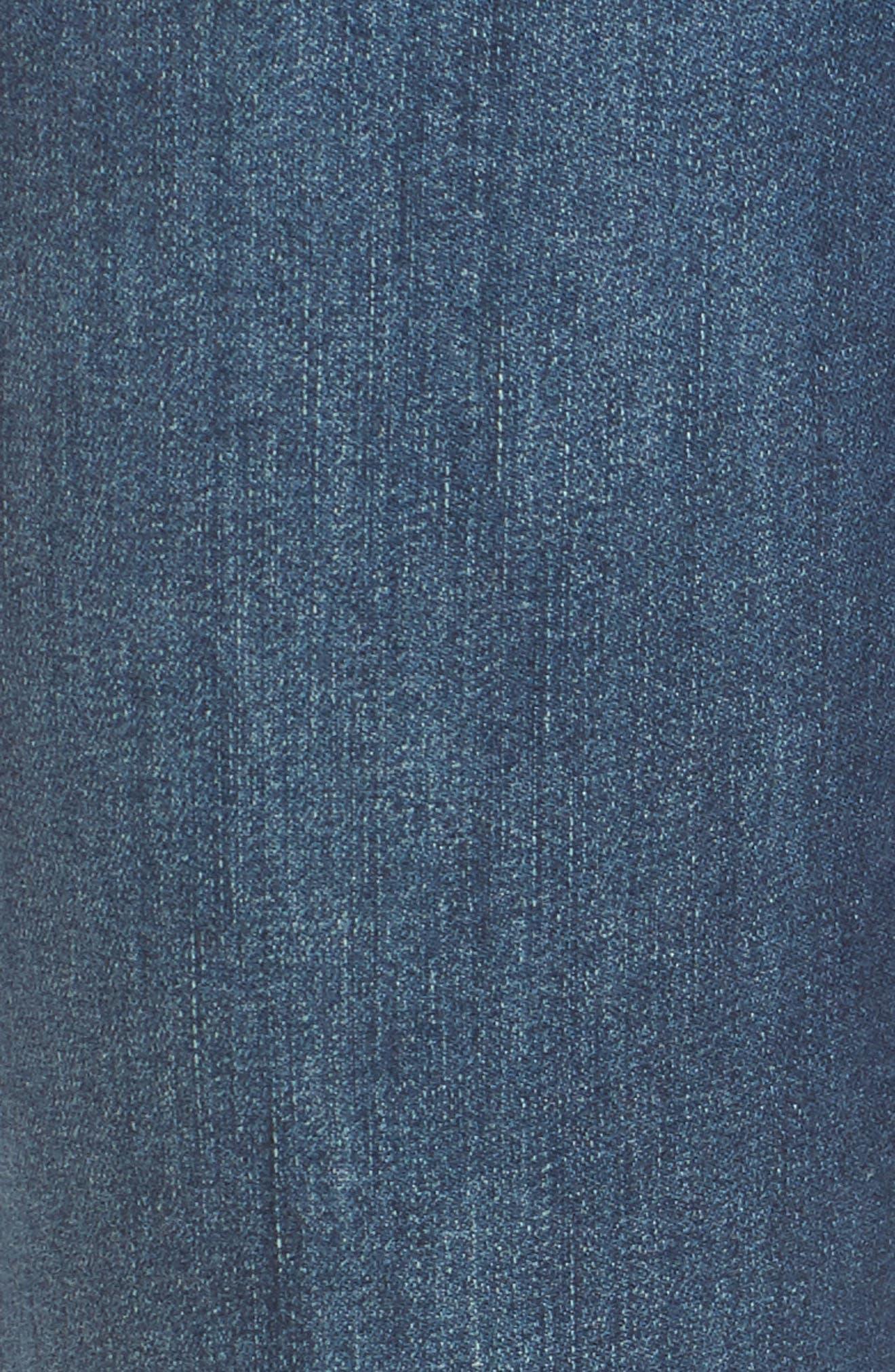 Tabitha Release Hem Crop Jeans,                             Alternate thumbnail 7, color,                             Montauk Mid Blue