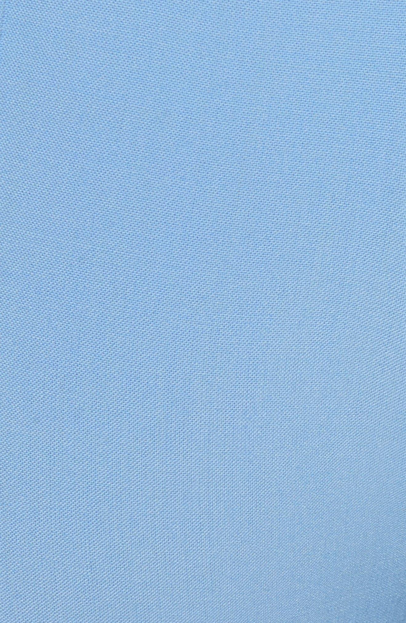 Stripe Split Hem Pants,                             Alternate thumbnail 5, color,                             Lagoon Blue