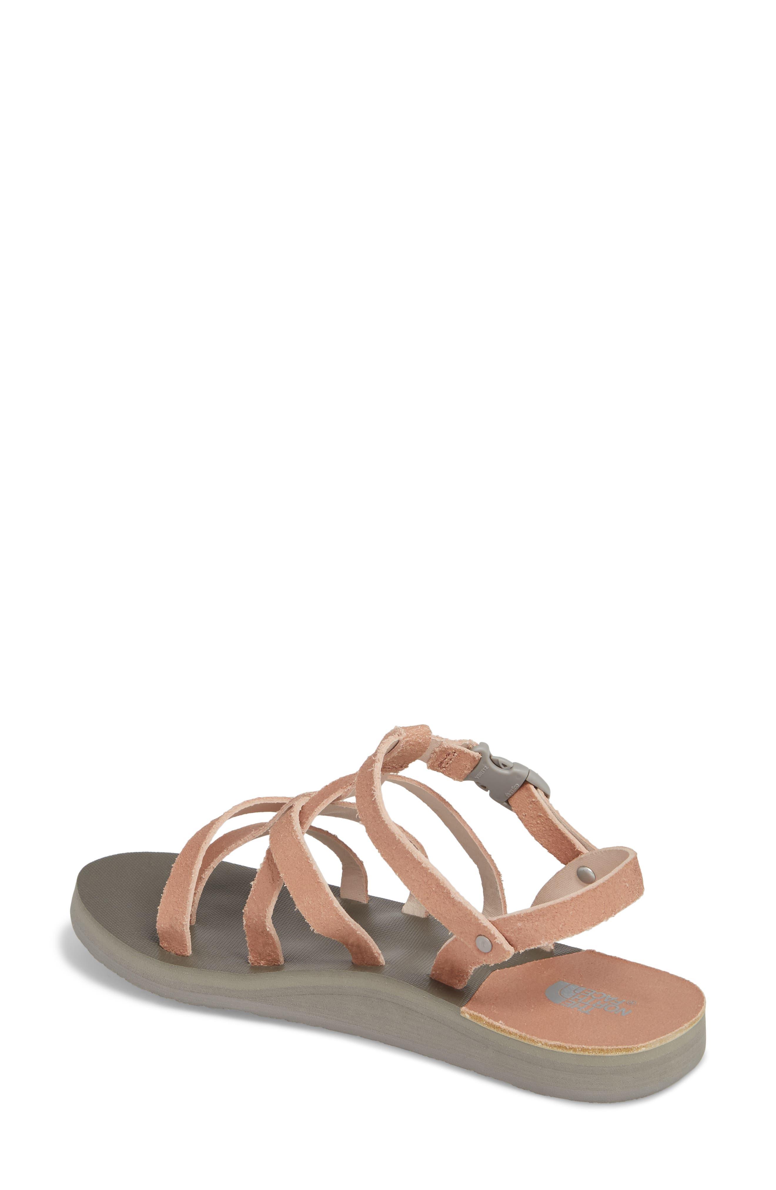 Base Camp Plus II Gladiator Sandal,                             Alternate thumbnail 2, color,                             Evening Sand Pink/ Foil Grey