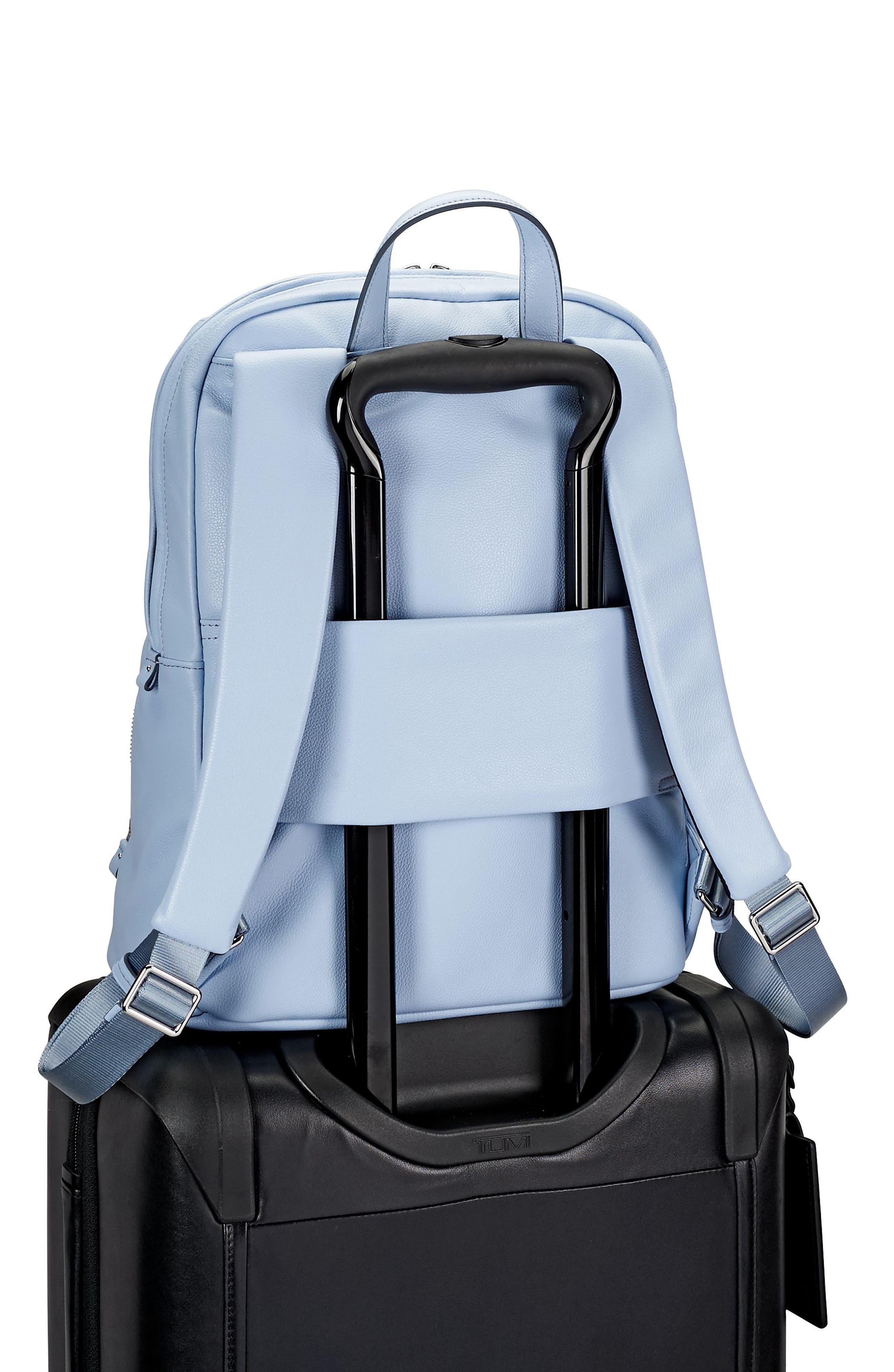 Alternate Image 4  - Tumi Voyageur Halle Leather Backpack (Limited Edition)
