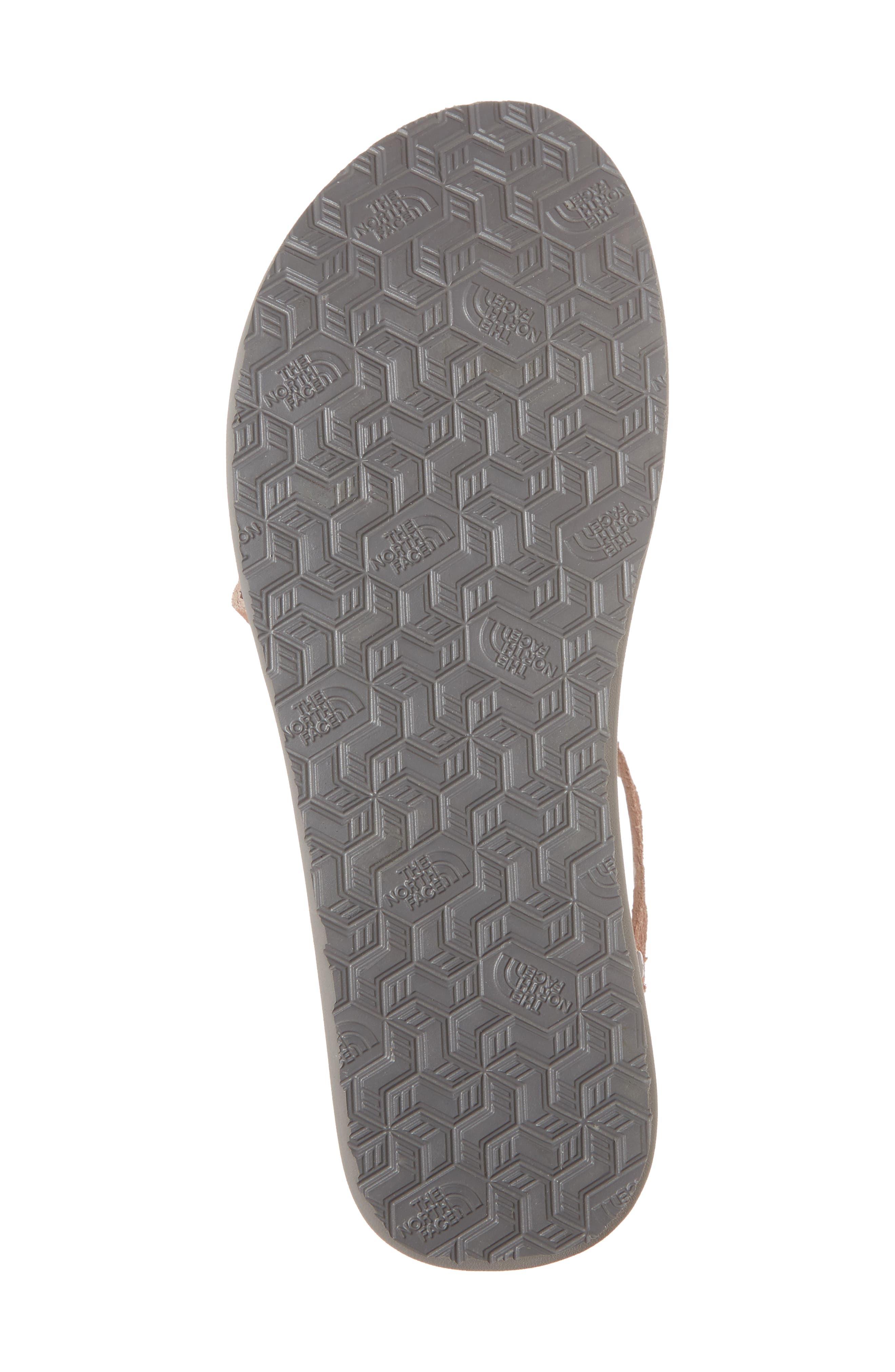 Base Camp Plus II Gladiator Sandal,                             Alternate thumbnail 6, color,                             Evening Sand Pink/ Foil Grey