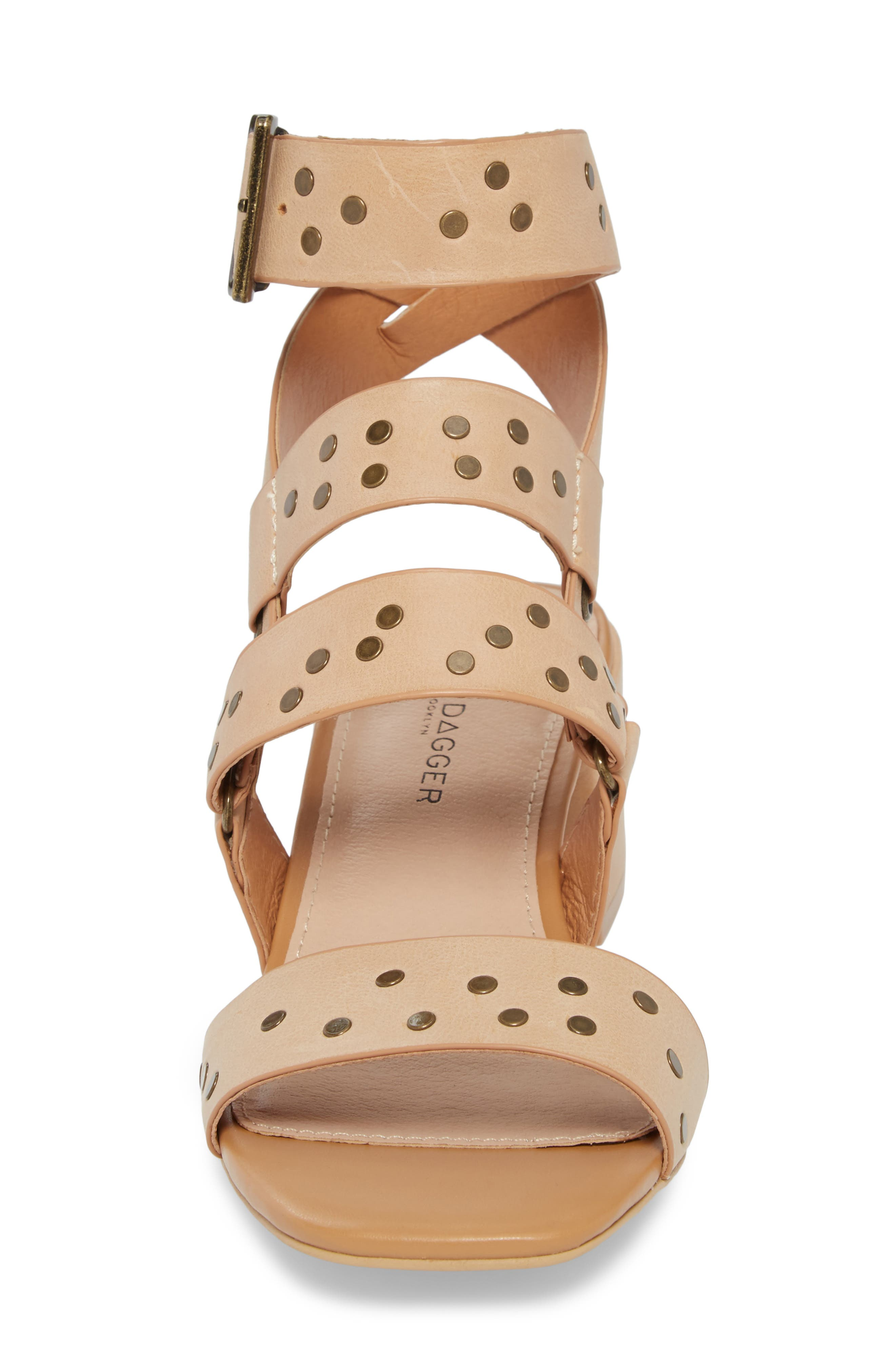 Seabring City Sandal,                             Alternate thumbnail 4, color,                             Tan Leather