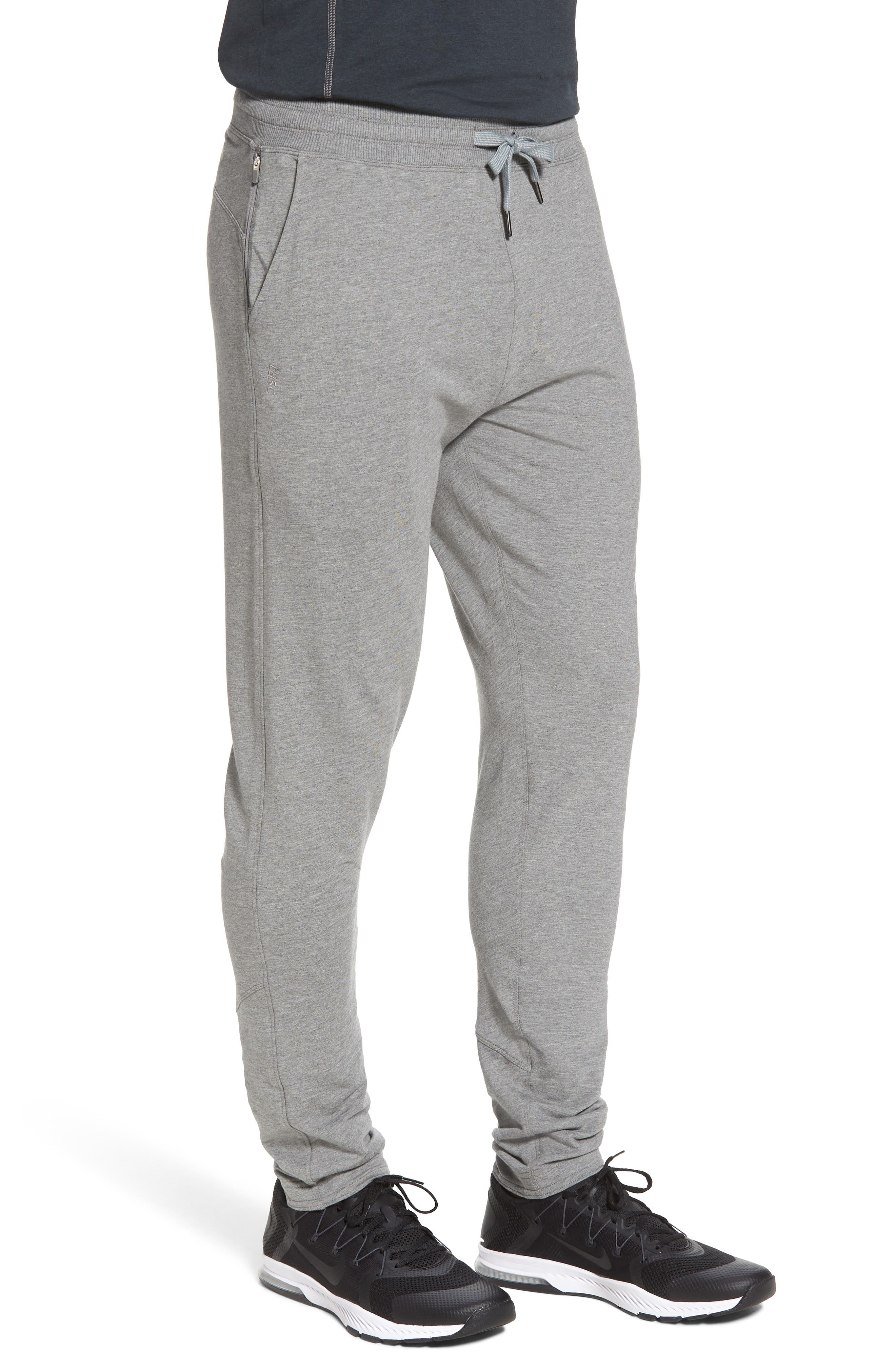 Legacy Lounge Pants,                             Alternate thumbnail 3, color,                             Heather Grey