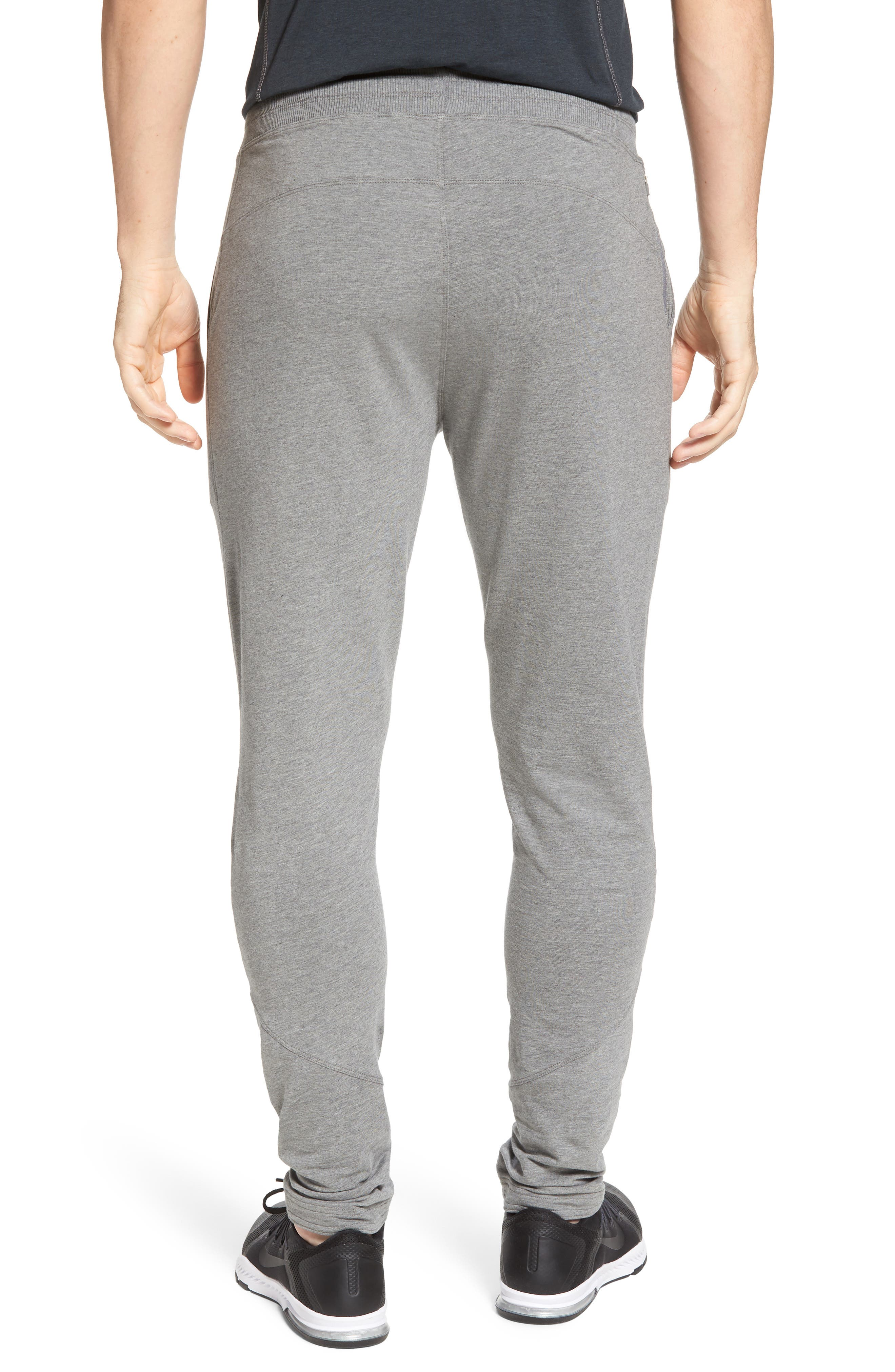 Legacy Lounge Pants,                             Alternate thumbnail 2, color,                             Heather Grey