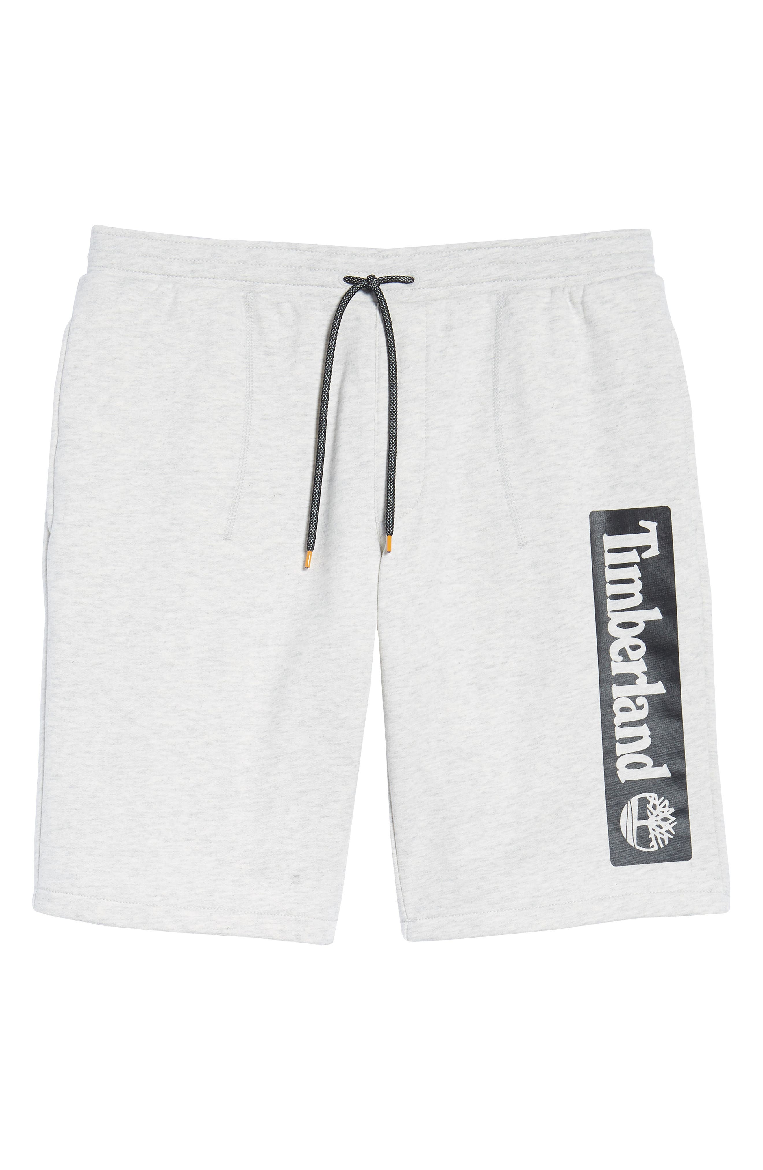 Logo Jogger Shorts,                             Alternate thumbnail 6, color,                             Micro Chip Heather
