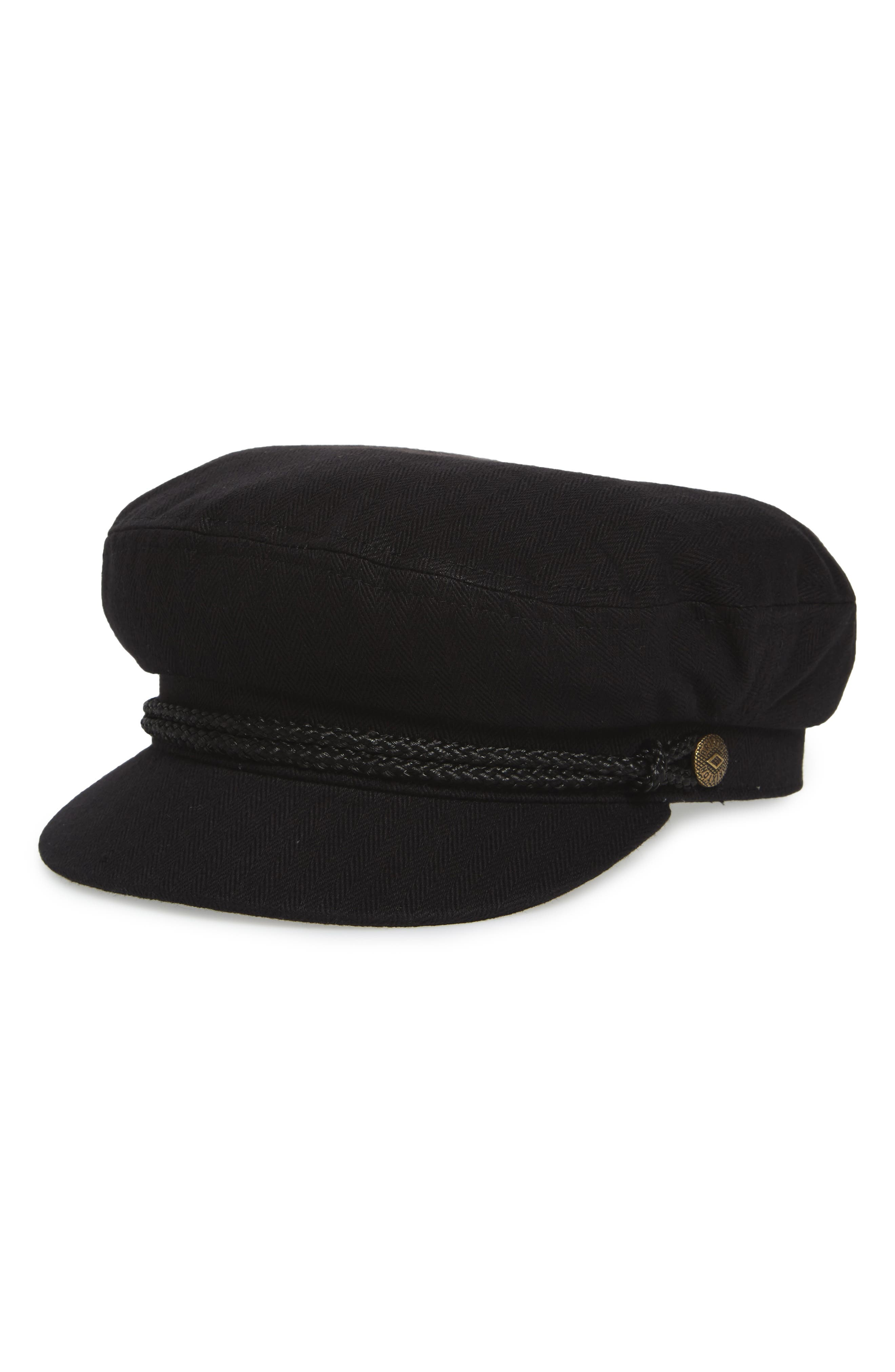 Fiddler Cap,                         Main,                         color, Black