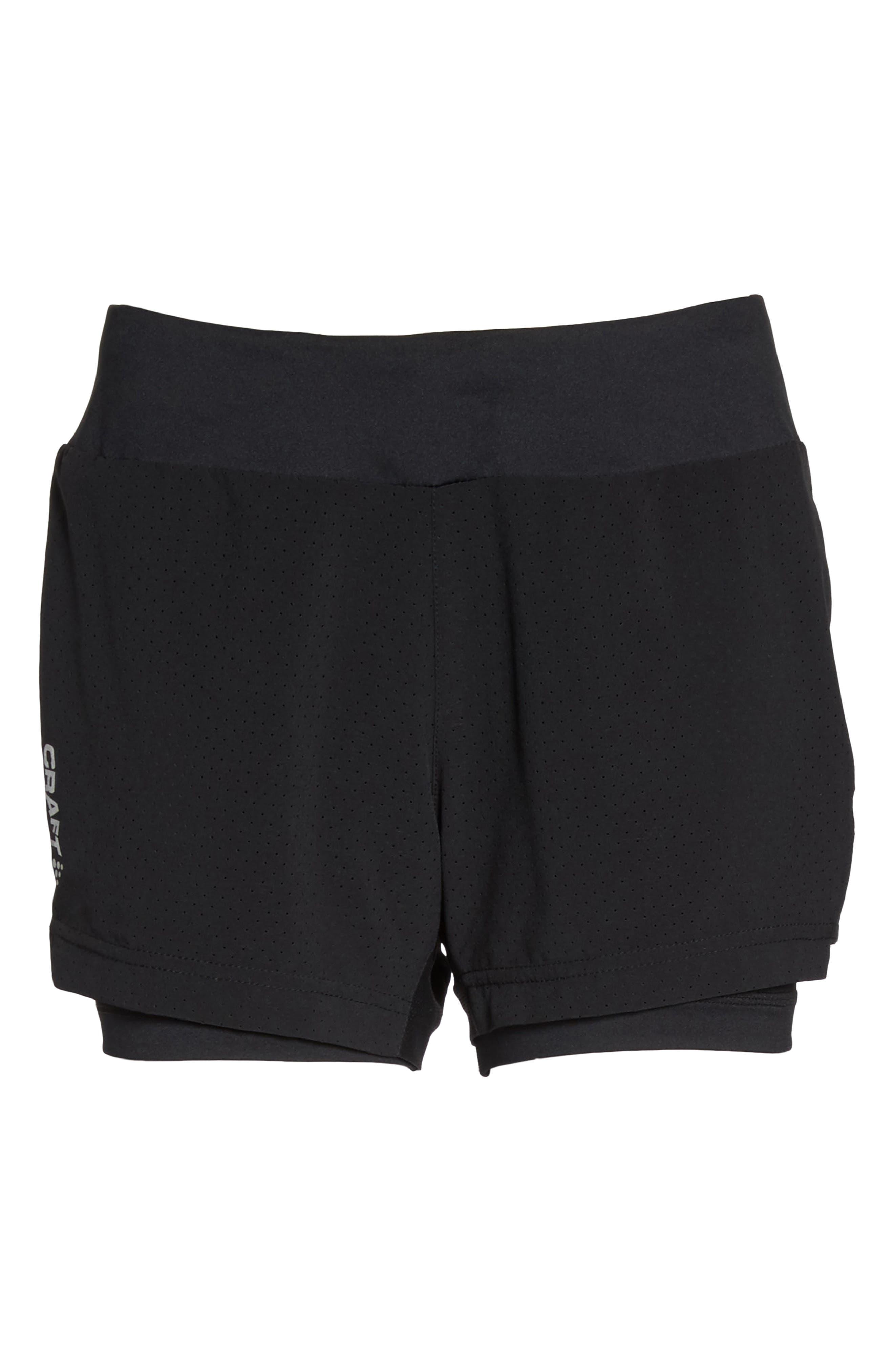 Breakaway 2-in-1 Shorts,                             Alternate thumbnail 7, color,                             Black
