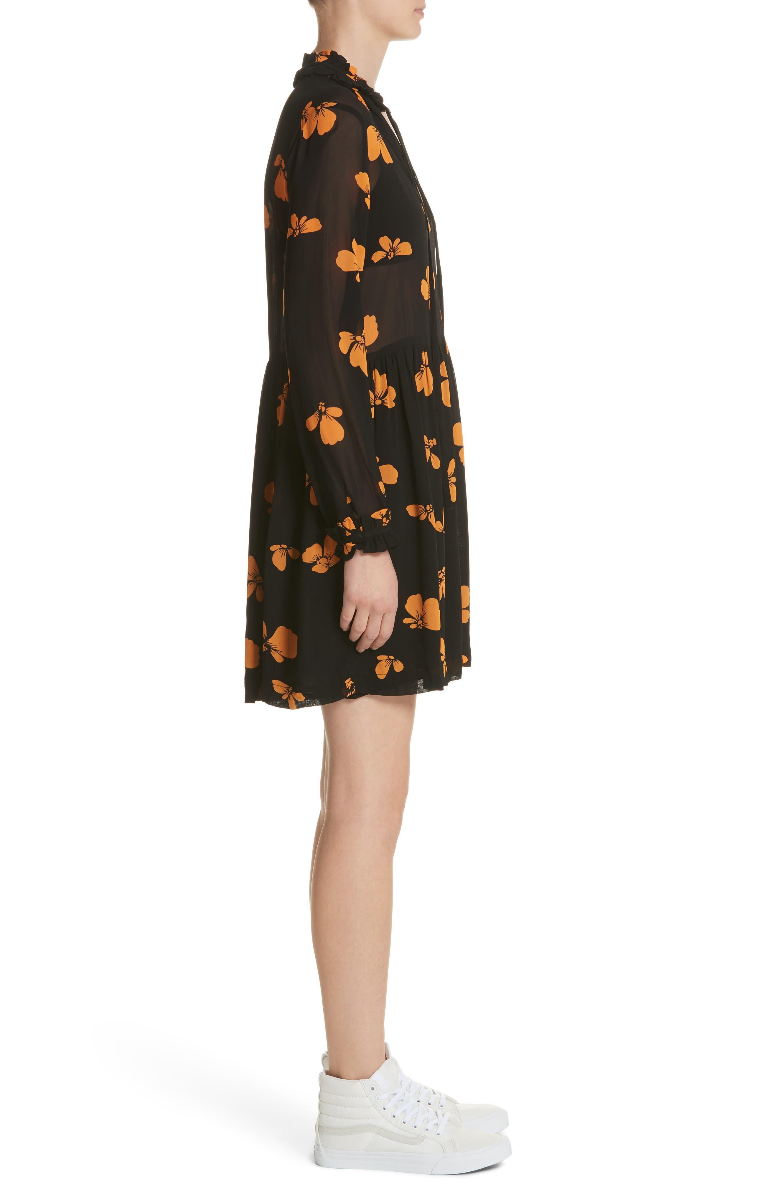 Alternate Image 3  - GANNI Fairfax Georgette Dress