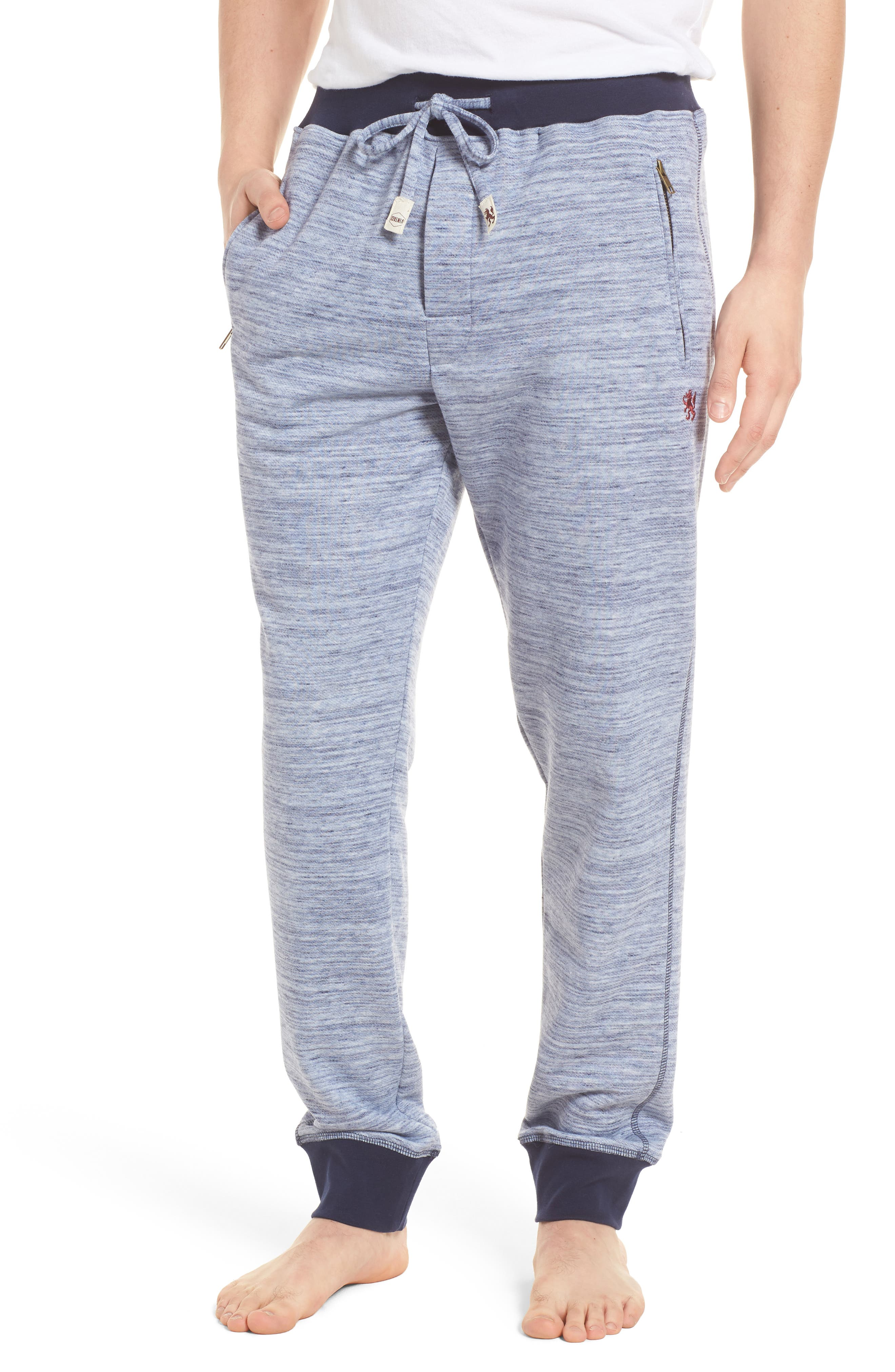Swept In Waves Lounge Pants,                             Main thumbnail 1, color,                             Alfresco French Terry