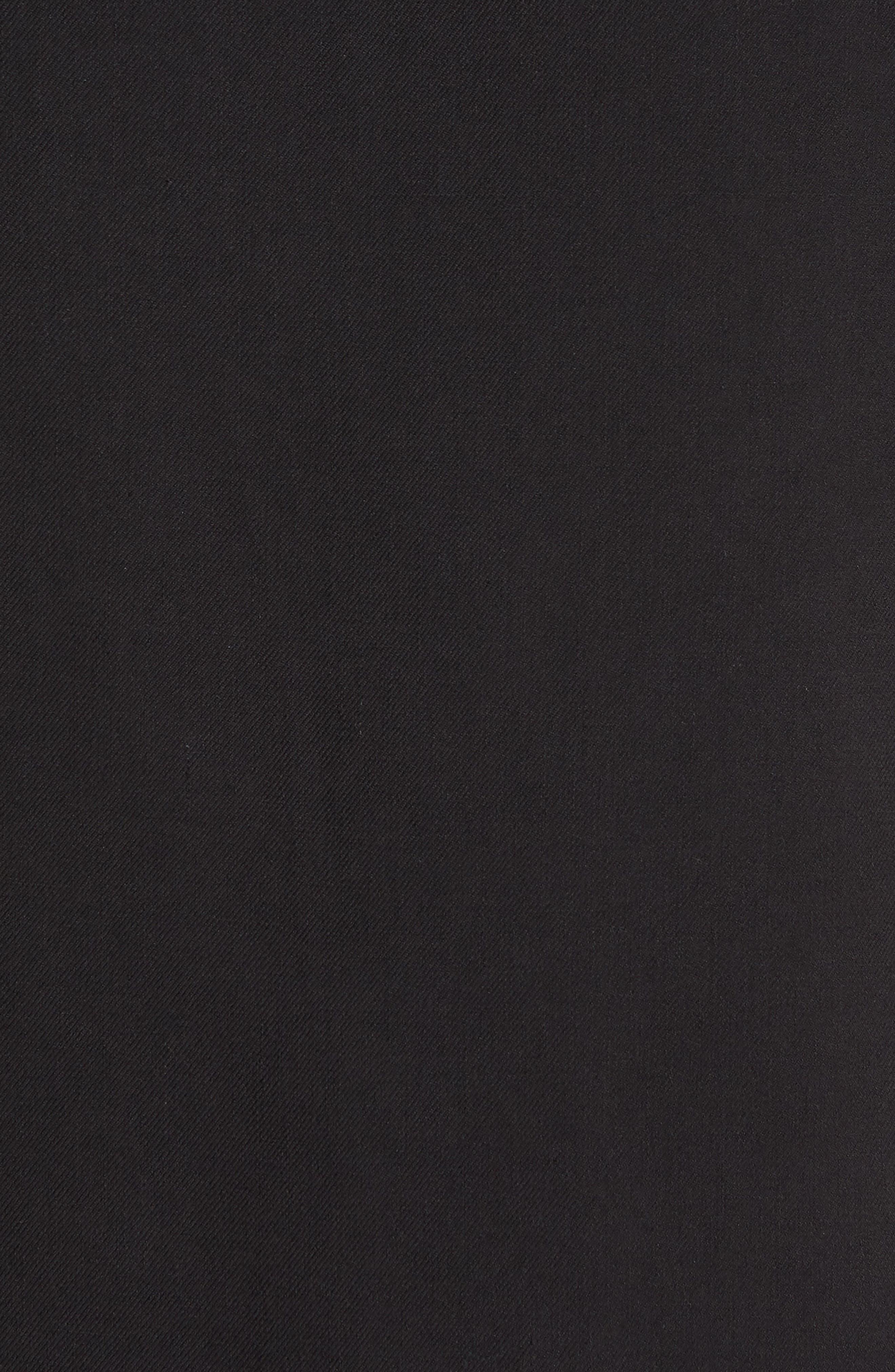Catalina Twill Sport Shirt,                             Alternate thumbnail 5, color,                             Black