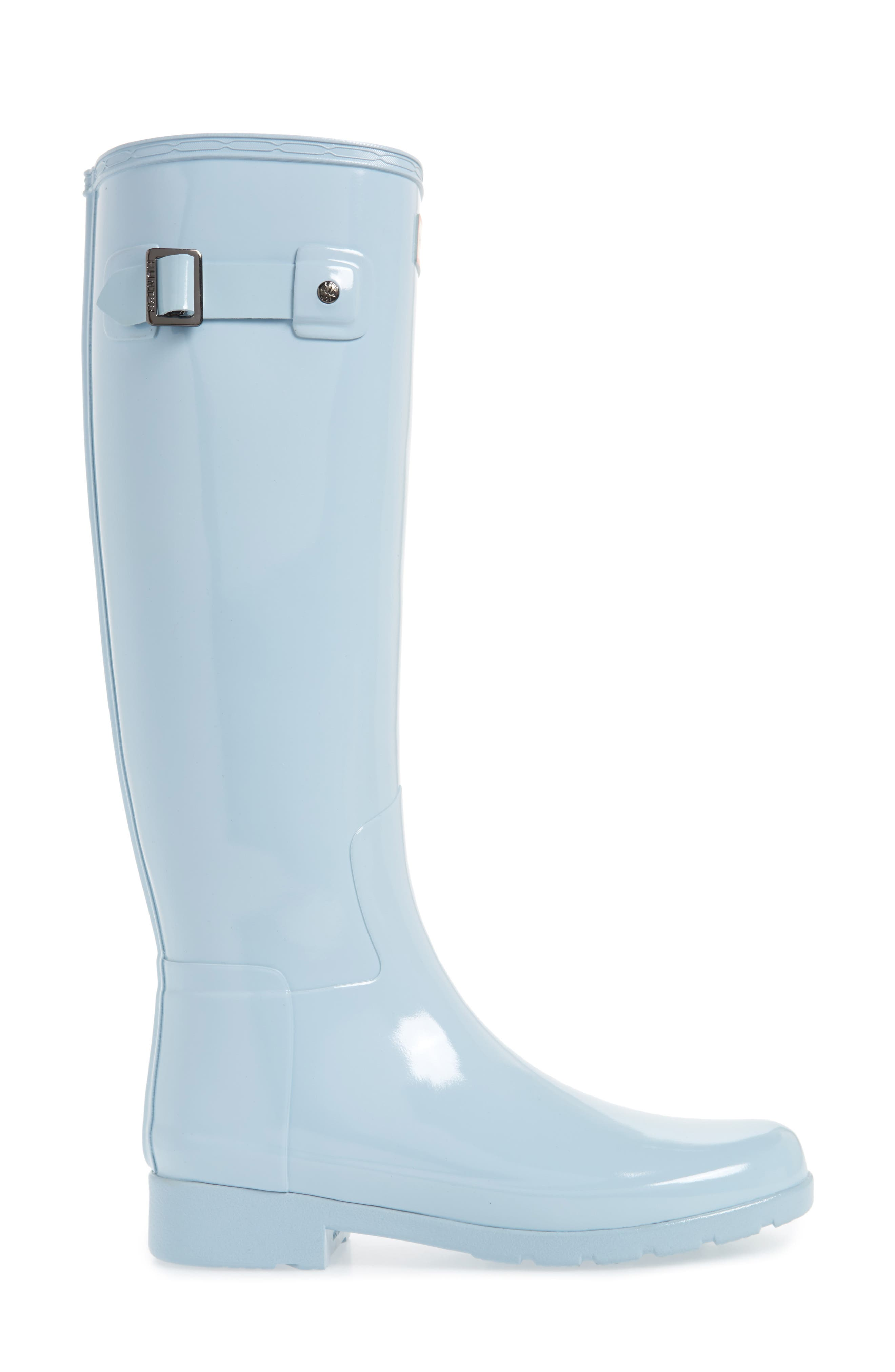Alternate Image 3  - Hunter 'Original Refined' High Gloss Rain Boot (Women)