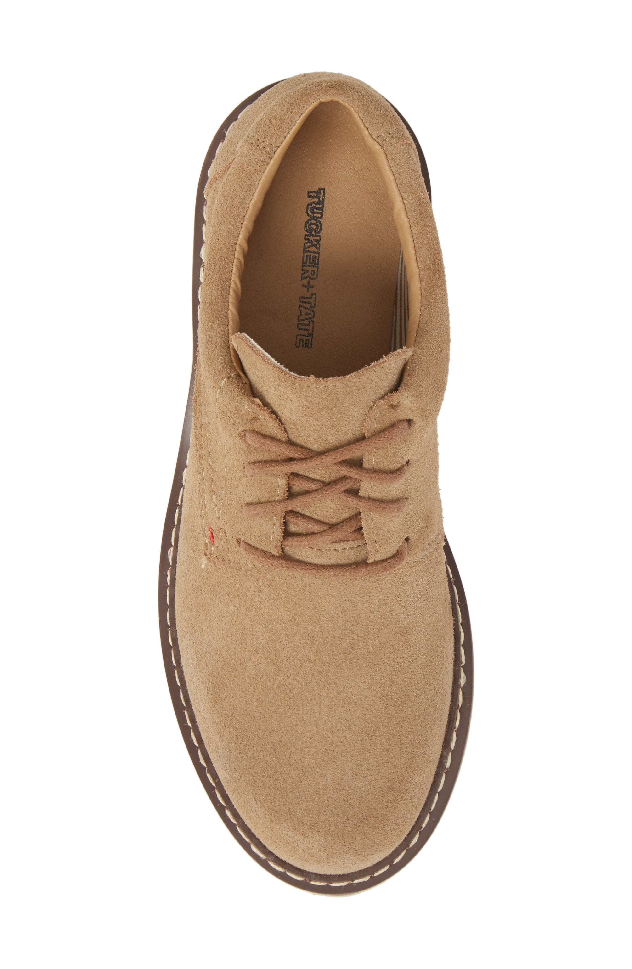 Preston Derby,                             Alternate thumbnail 5, color,                             Taupe Leather