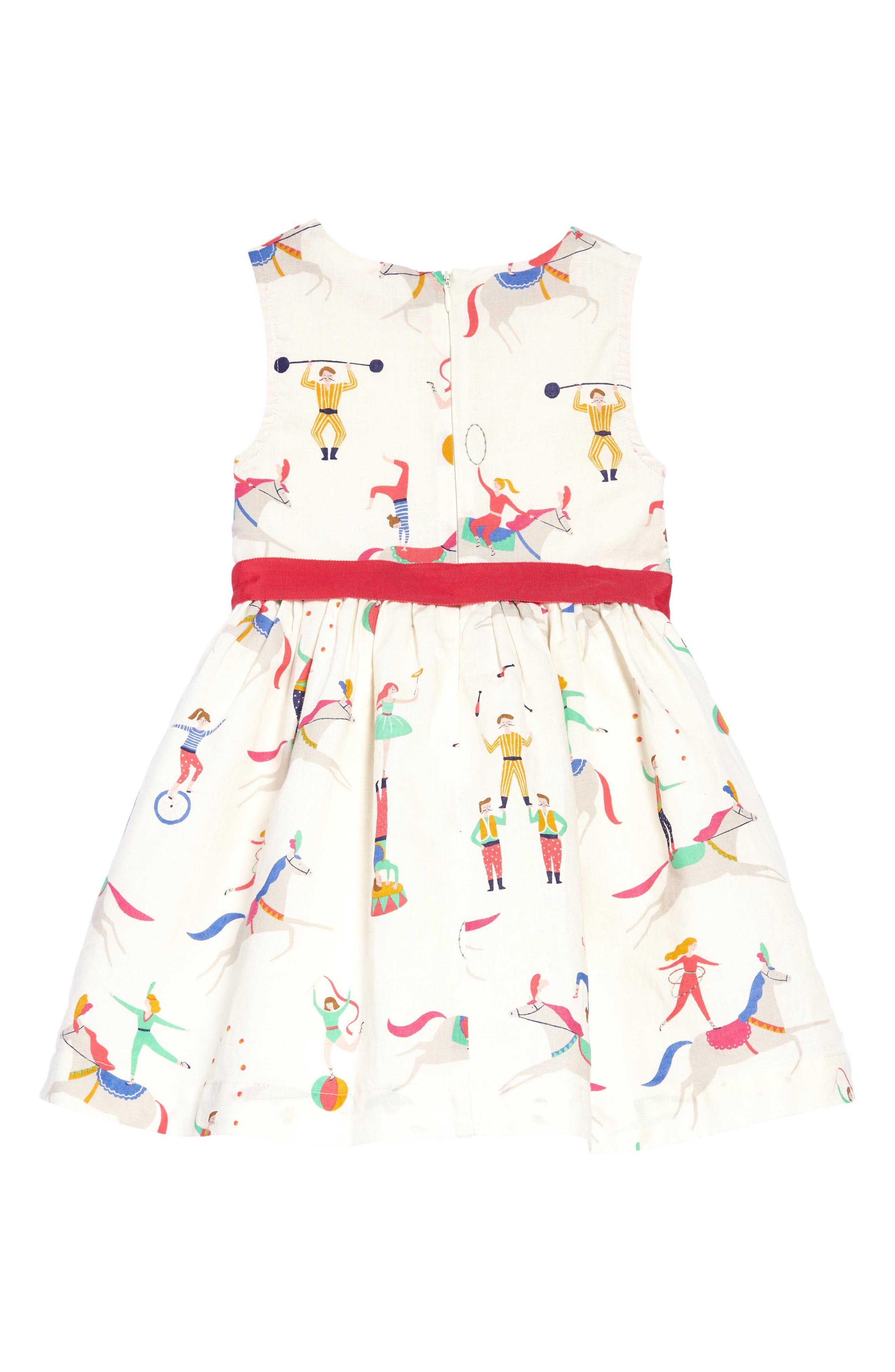 Vintage Dress,                             Alternate thumbnail 2, color,                             Ecru Acrobats