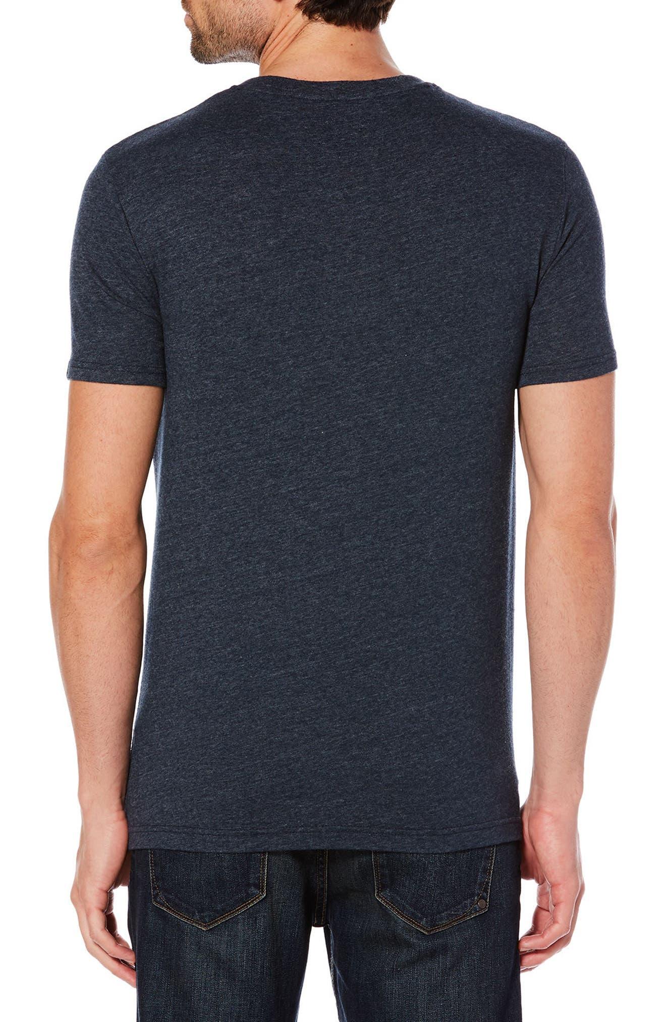 Don't Push My Buttons T-Shirt,                             Alternate thumbnail 2, color,                             Dark Sapphire