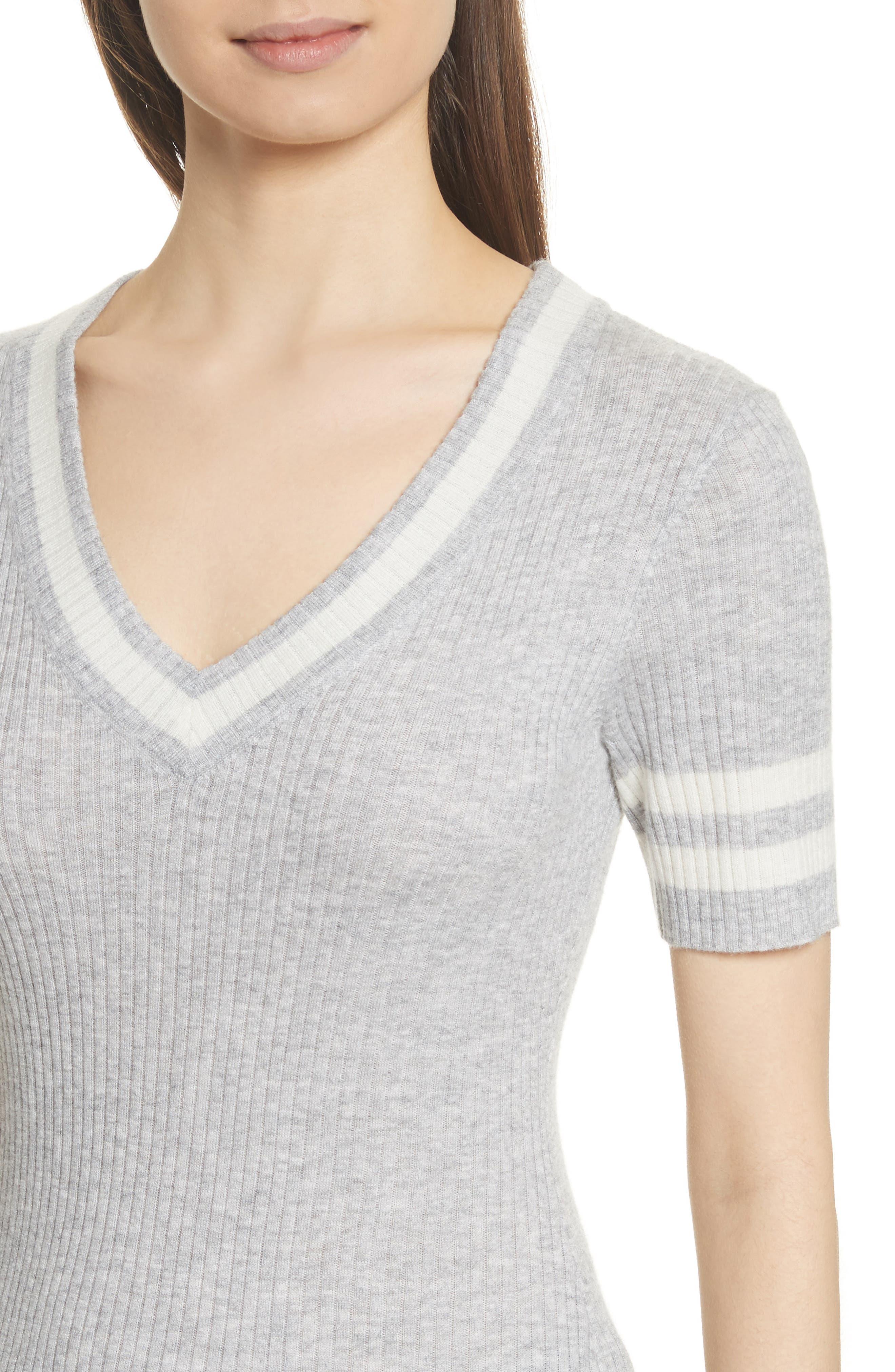 Alternate Image 5  - FRAME Varsity Sweater