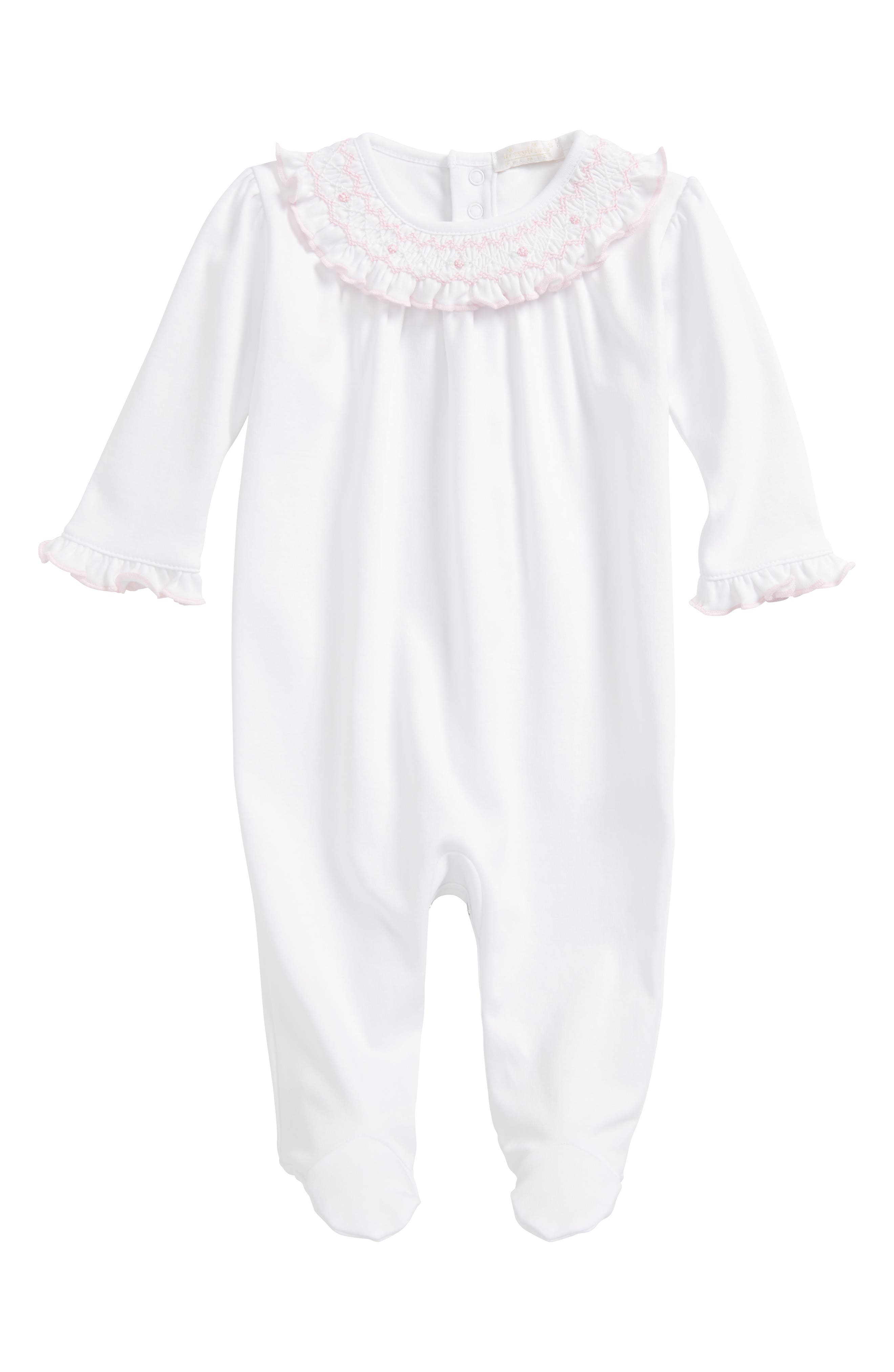 Kissy Kissy Pima Cotton Footie (Baby Girls)