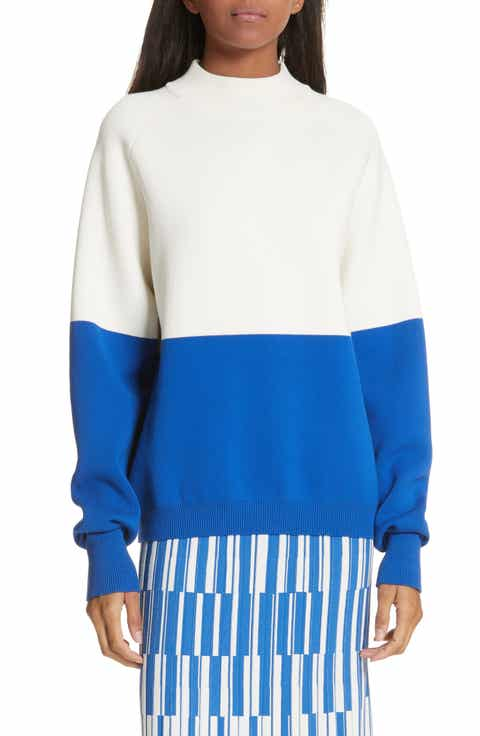 Tory Sport Colorblock Raglan Sweater