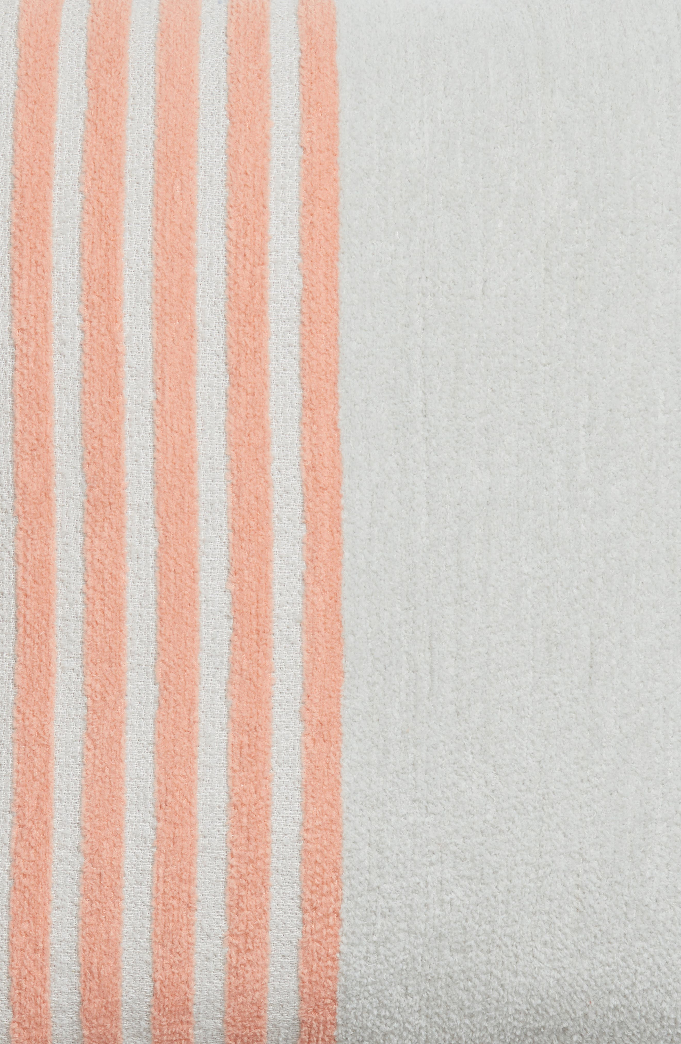 Hammam Stripe Accent Pillow,                             Alternate thumbnail 3, color,                             Grey Vapor