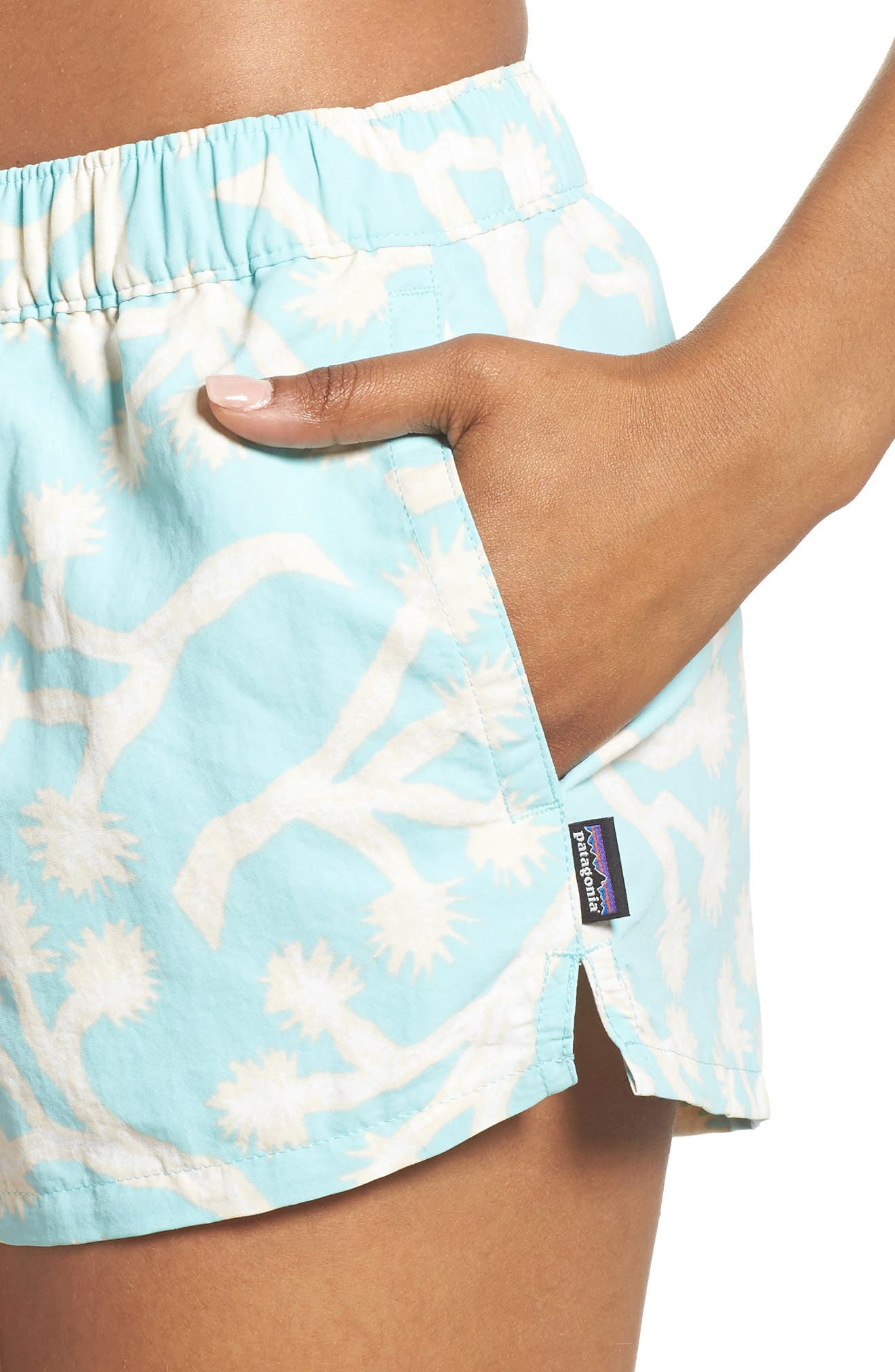 Barely Baggies Shorts,                             Alternate thumbnail 4, color,                             Josb Joshua Trees Bend Blue