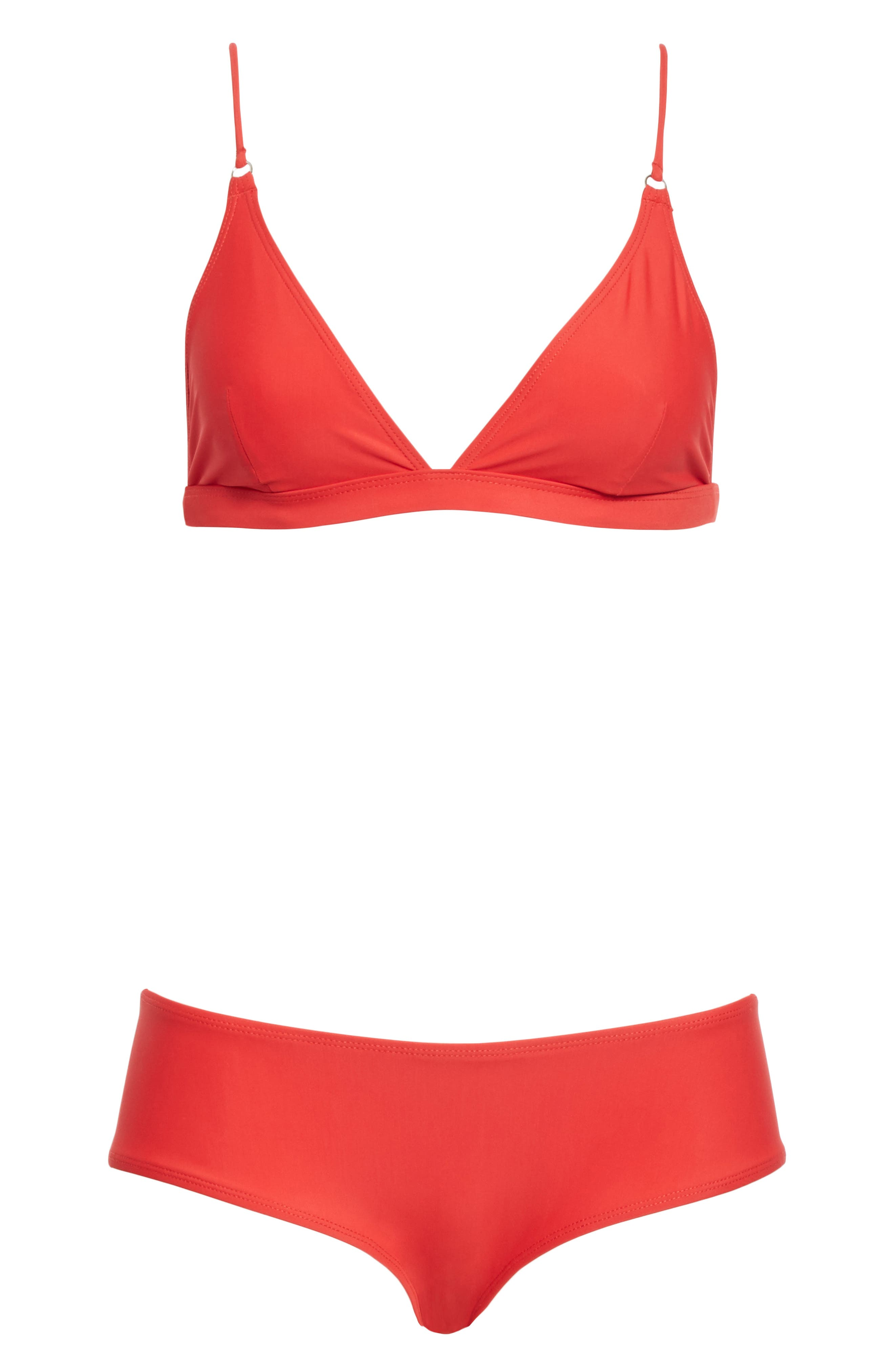 Hedea Bikini Set,                             Alternate thumbnail 6, color,                             Red
