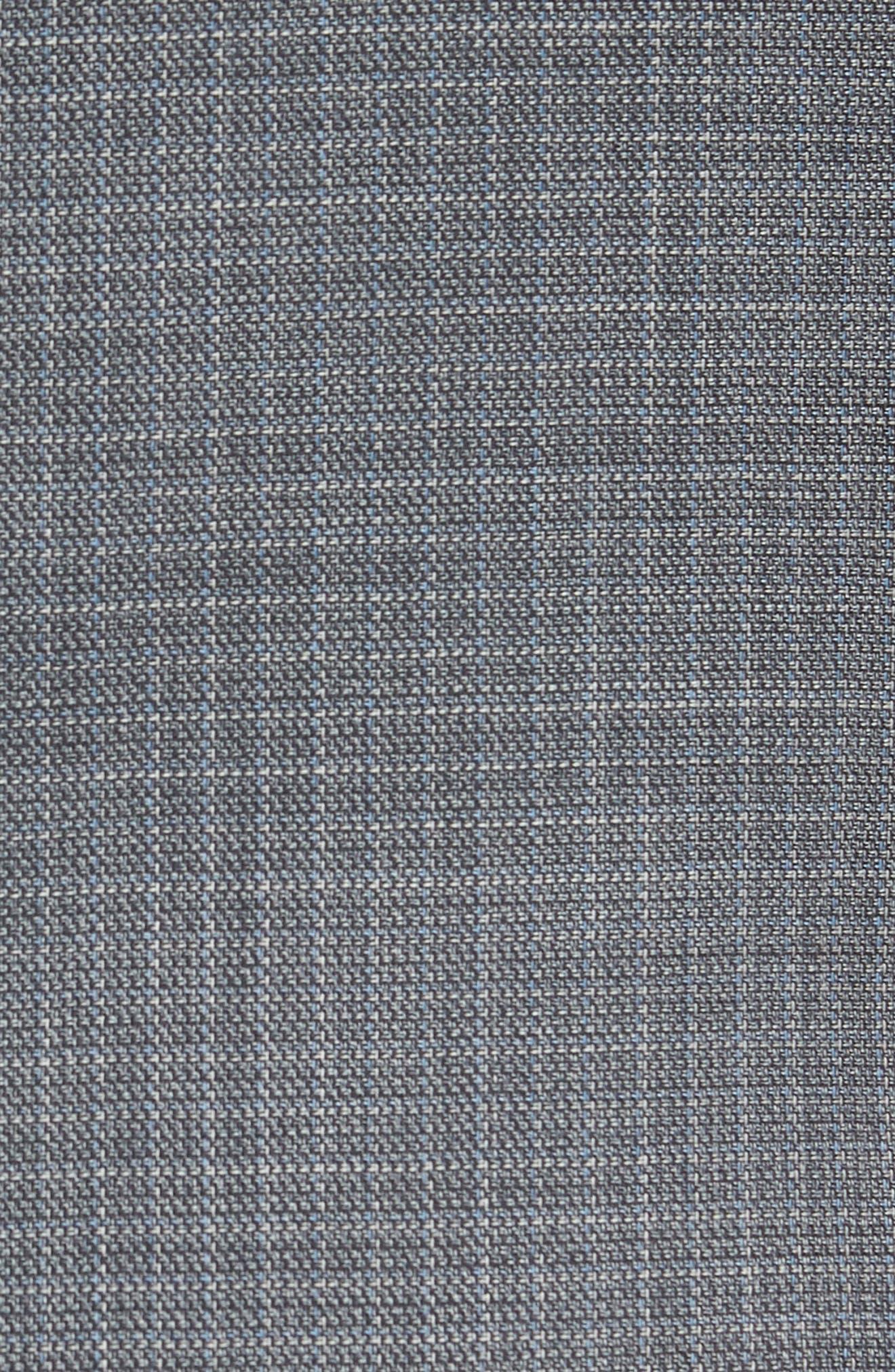 Nobis Trim Fit Wool Sport Coat,                             Alternate thumbnail 5, color,                             Medium Grey