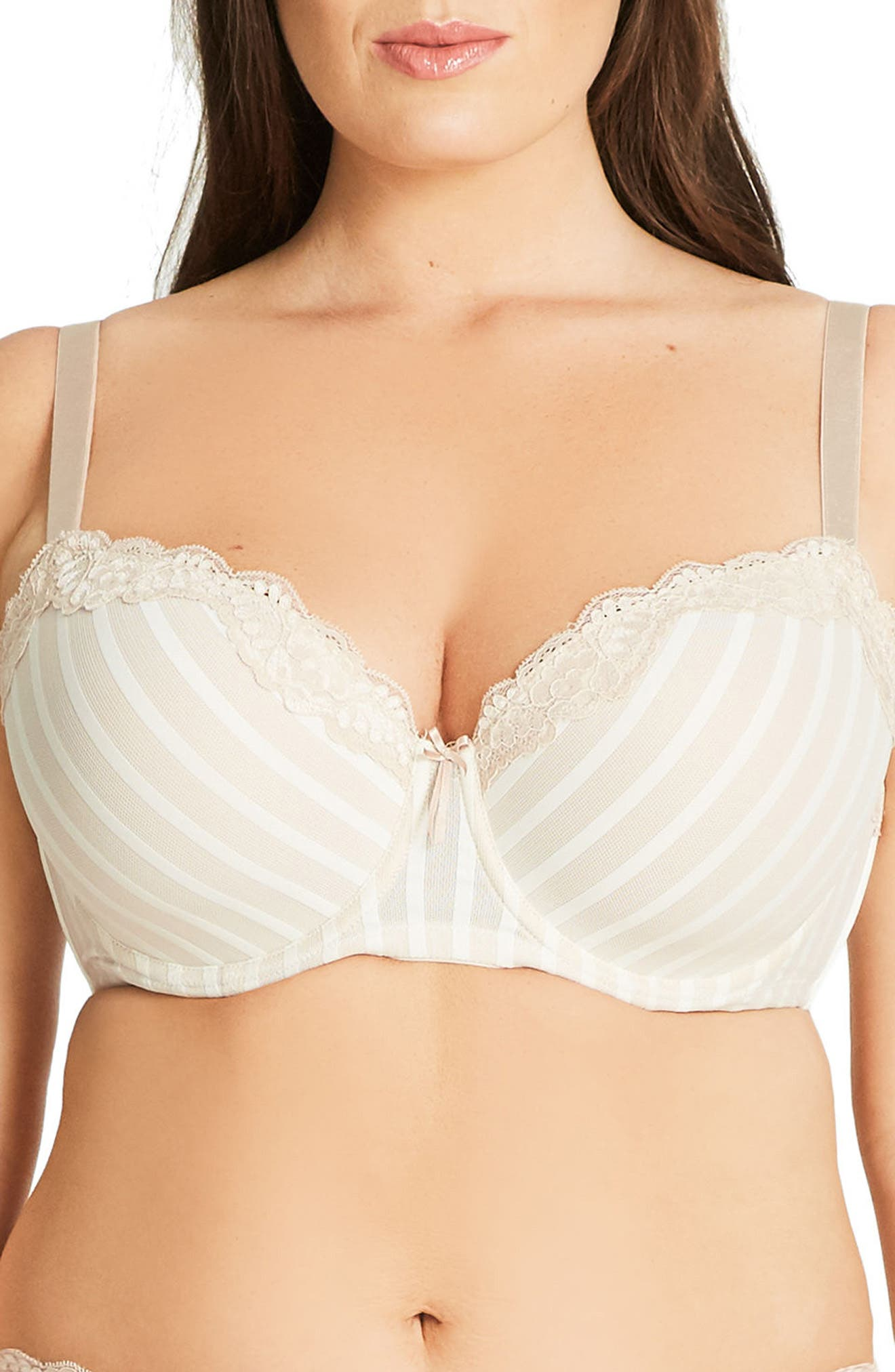 Fifi Underwire Balconette Bra,                         Main,                         color, Latte