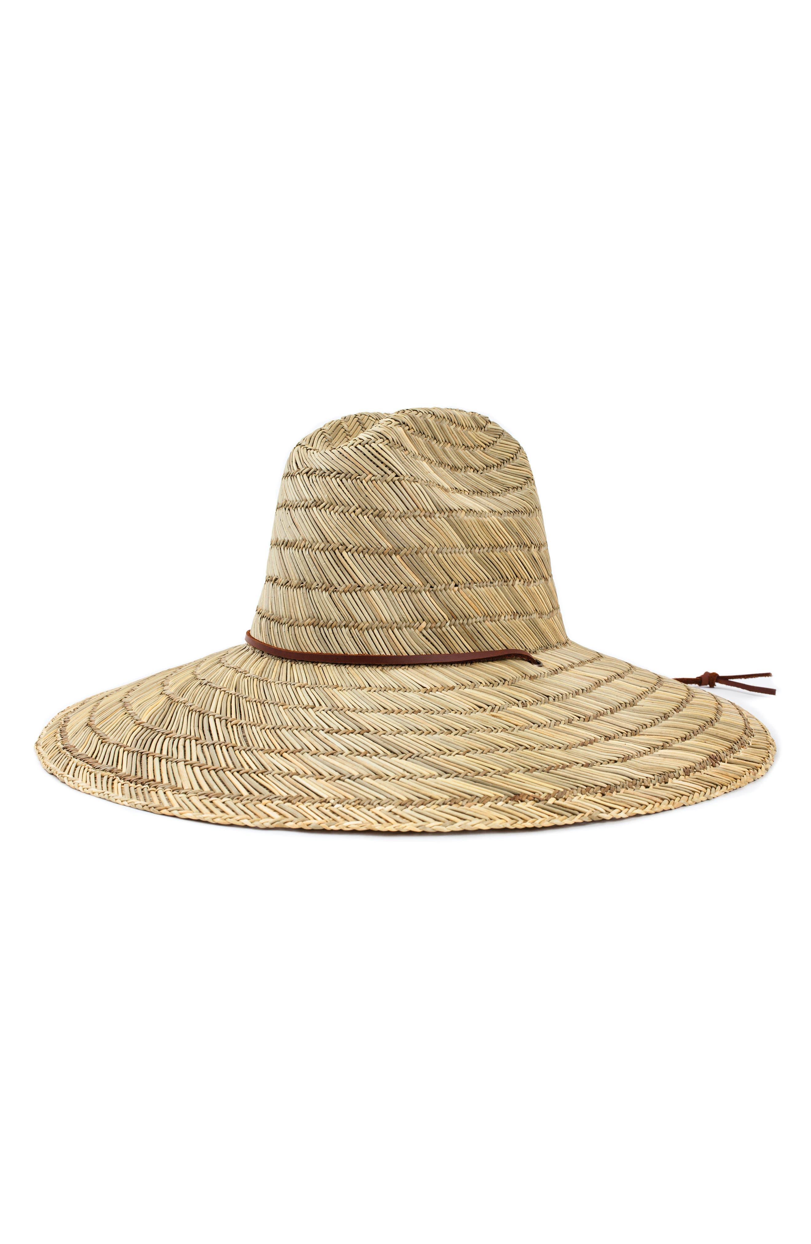 Bells Straw Hat,                         Main,                         color, Tan