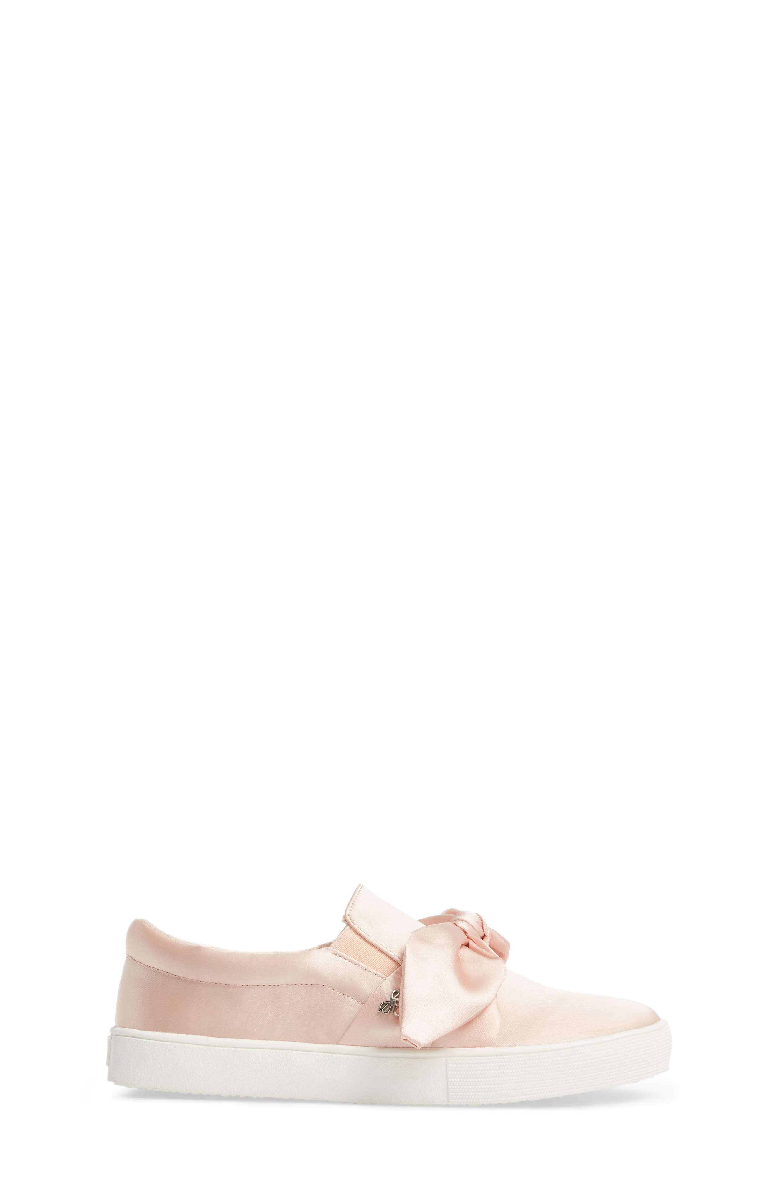 Bella Eden Slip-On Sneaker,                             Alternate thumbnail 3, color,                             Blush Satin