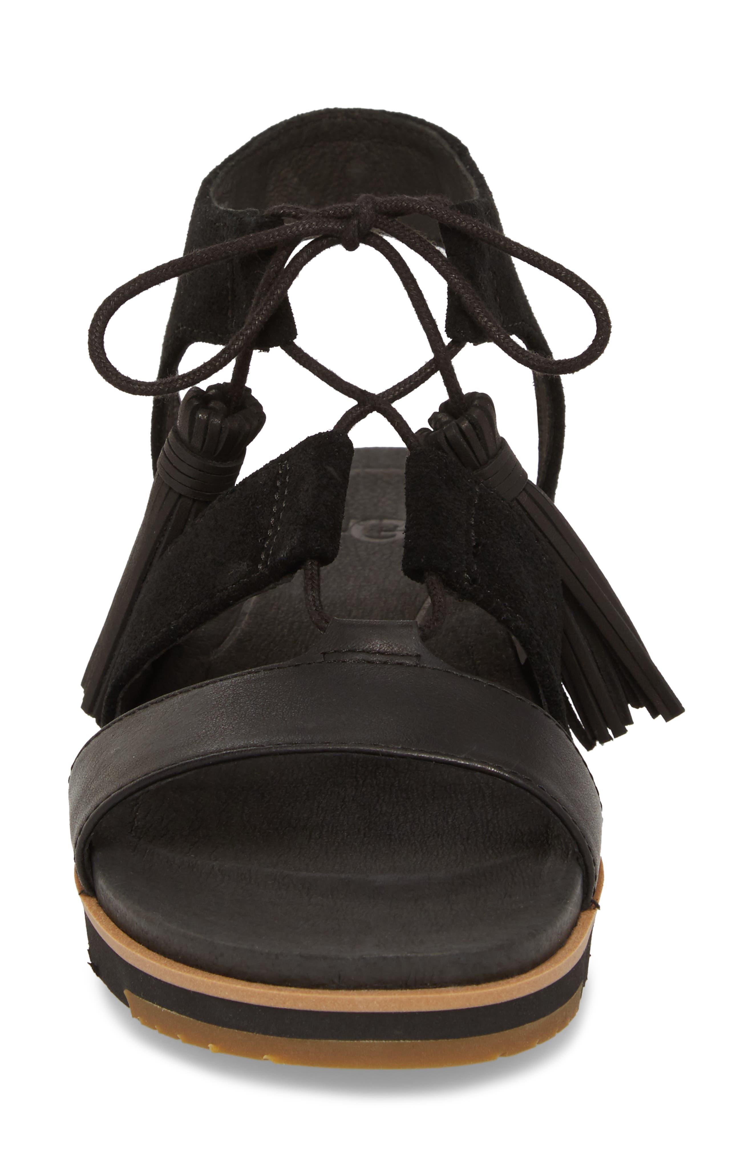 Alternate Image 4  - UGG® Maryssa Tassel Sandal (Women)