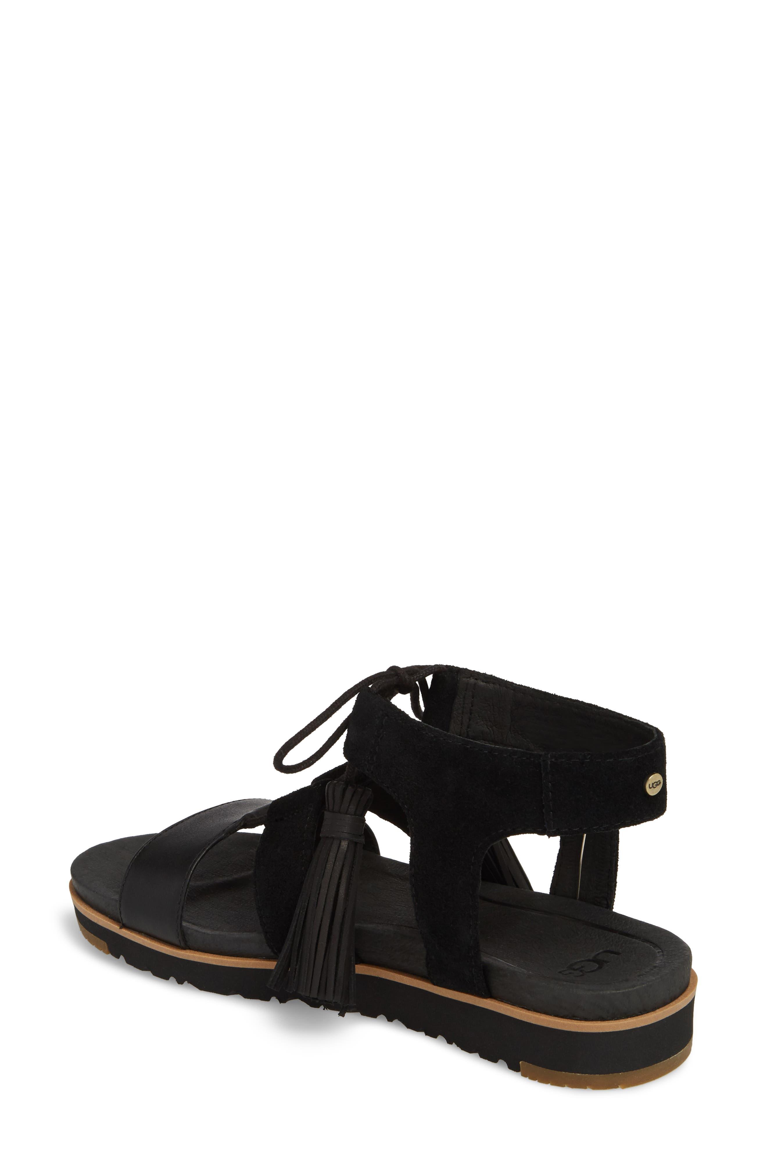 Alternate Image 2  - UGG® Maryssa Tassel Sandal (Women)