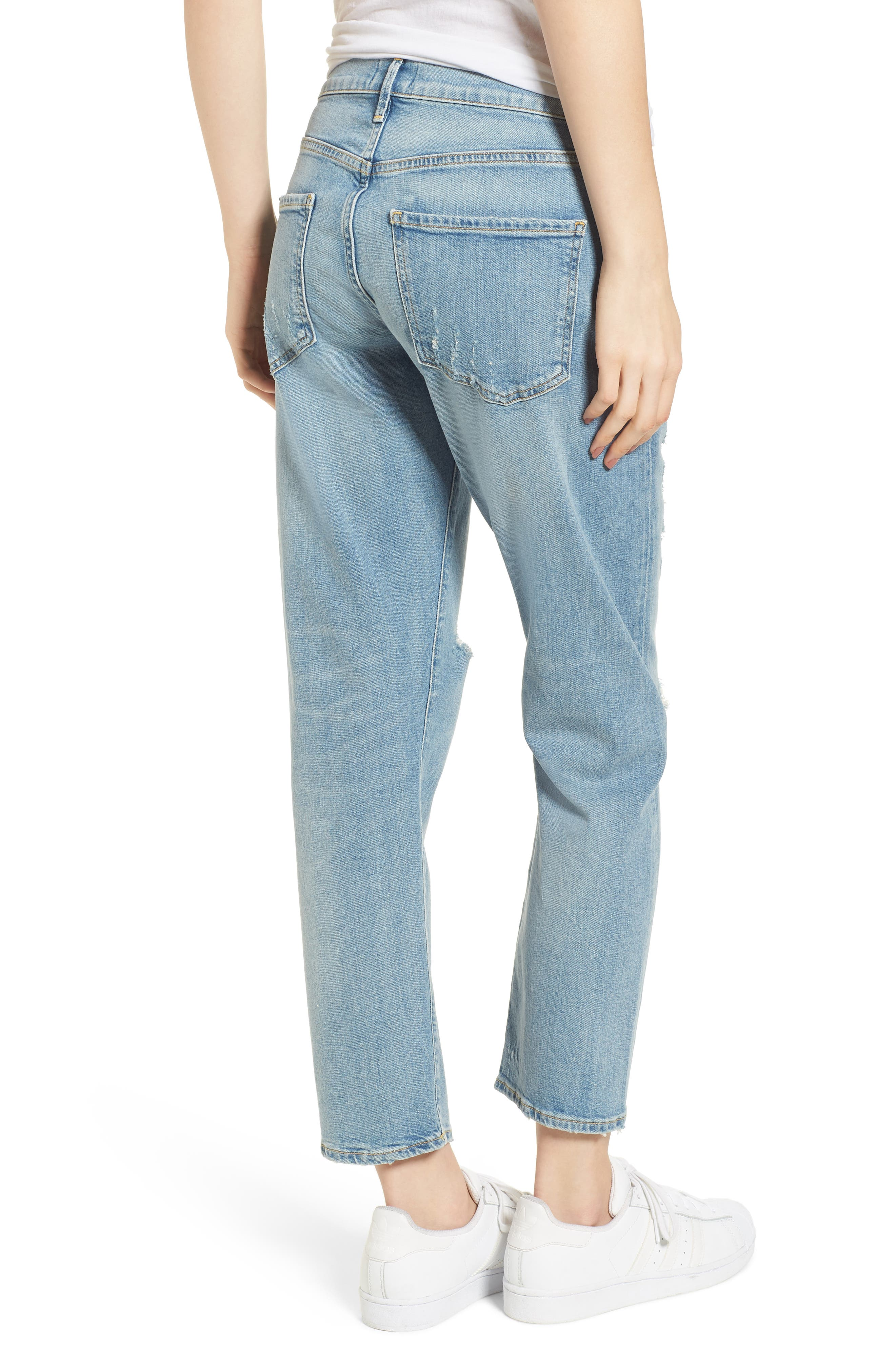 Isabel Ankle Slim Boyfriend Jeans,                             Alternate thumbnail 2, color,                             Dreamer