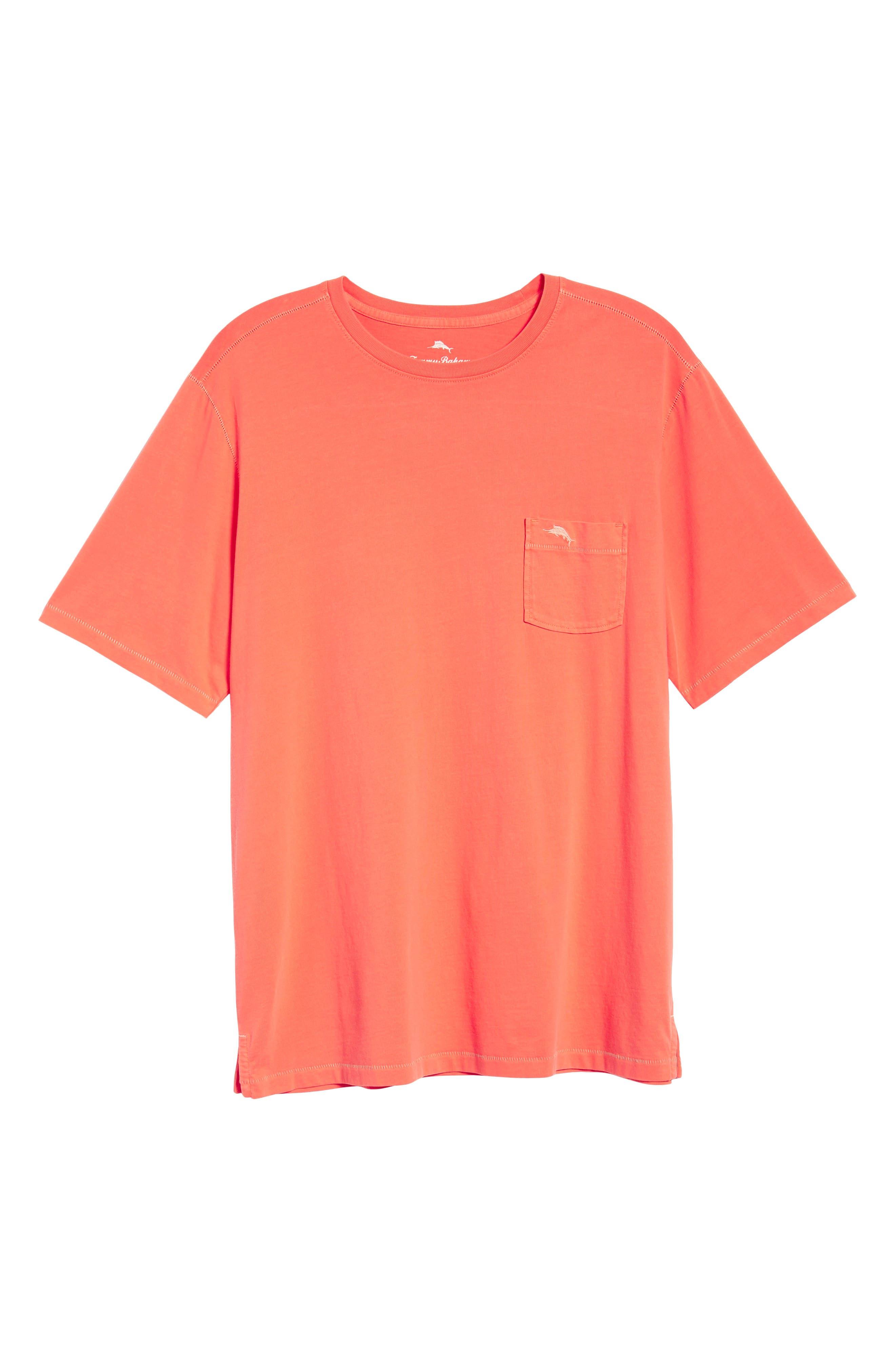 Alternate Image 6  - Tommy Bahama 'New Bahama Reef' Island Modern Fit Pima Cotton Pocket T-Shirt