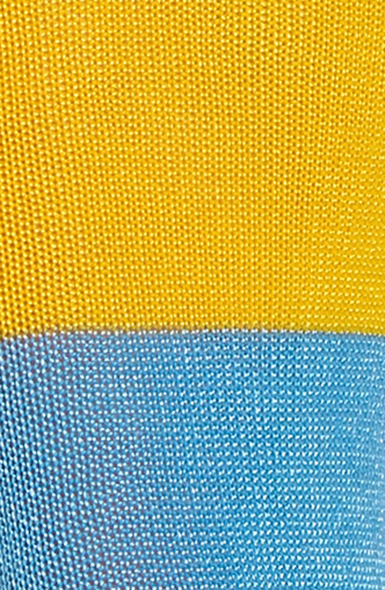Liza Sparkle Ankle Socks,                             Alternate thumbnail 2, color,                             Yellow