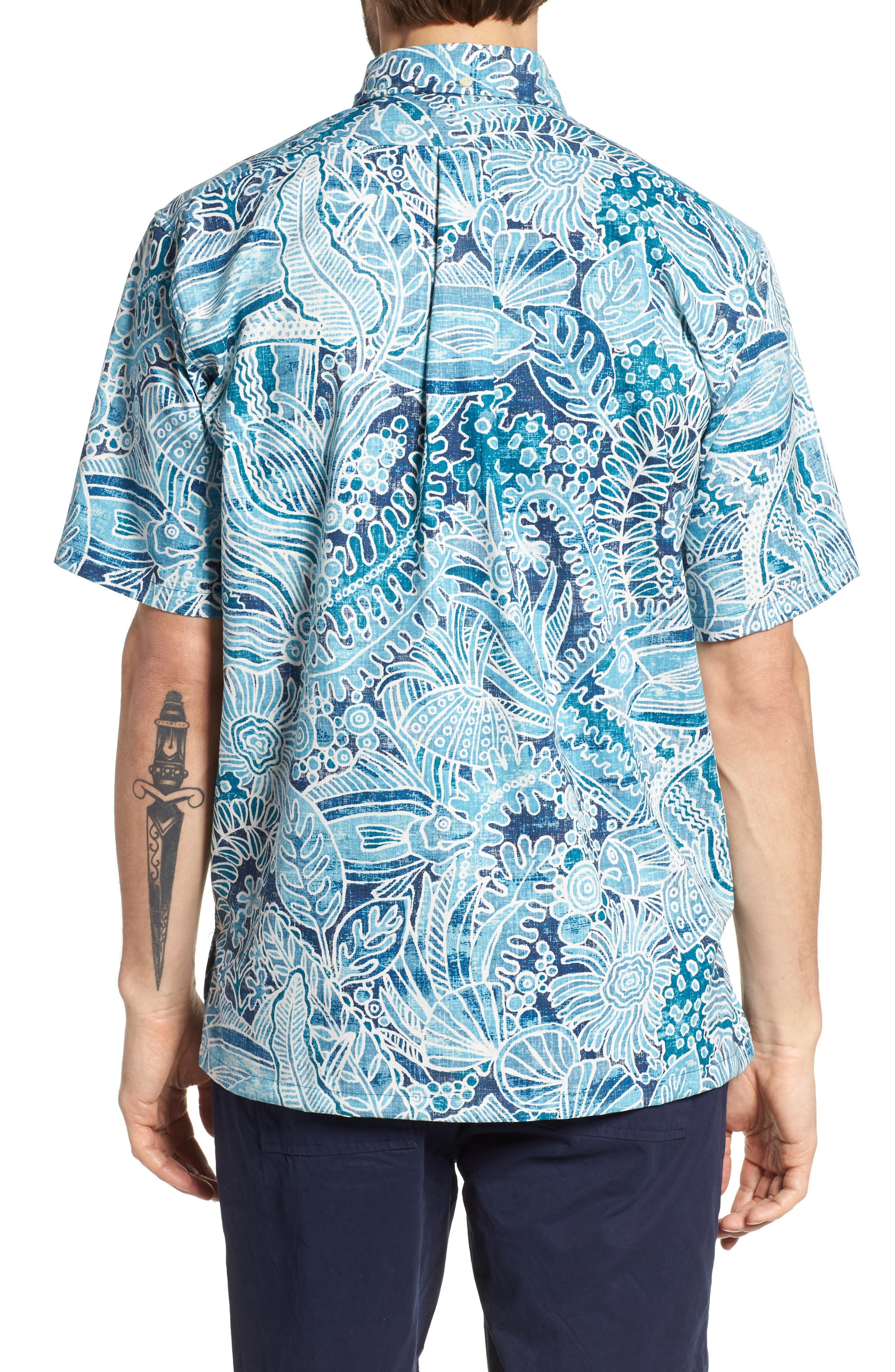 Deep Water Classic Fit Polo,                             Alternate thumbnail 2, color,                             Navy
