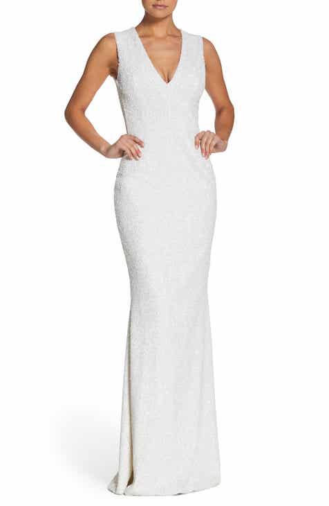 long white dresses   Nordstrom