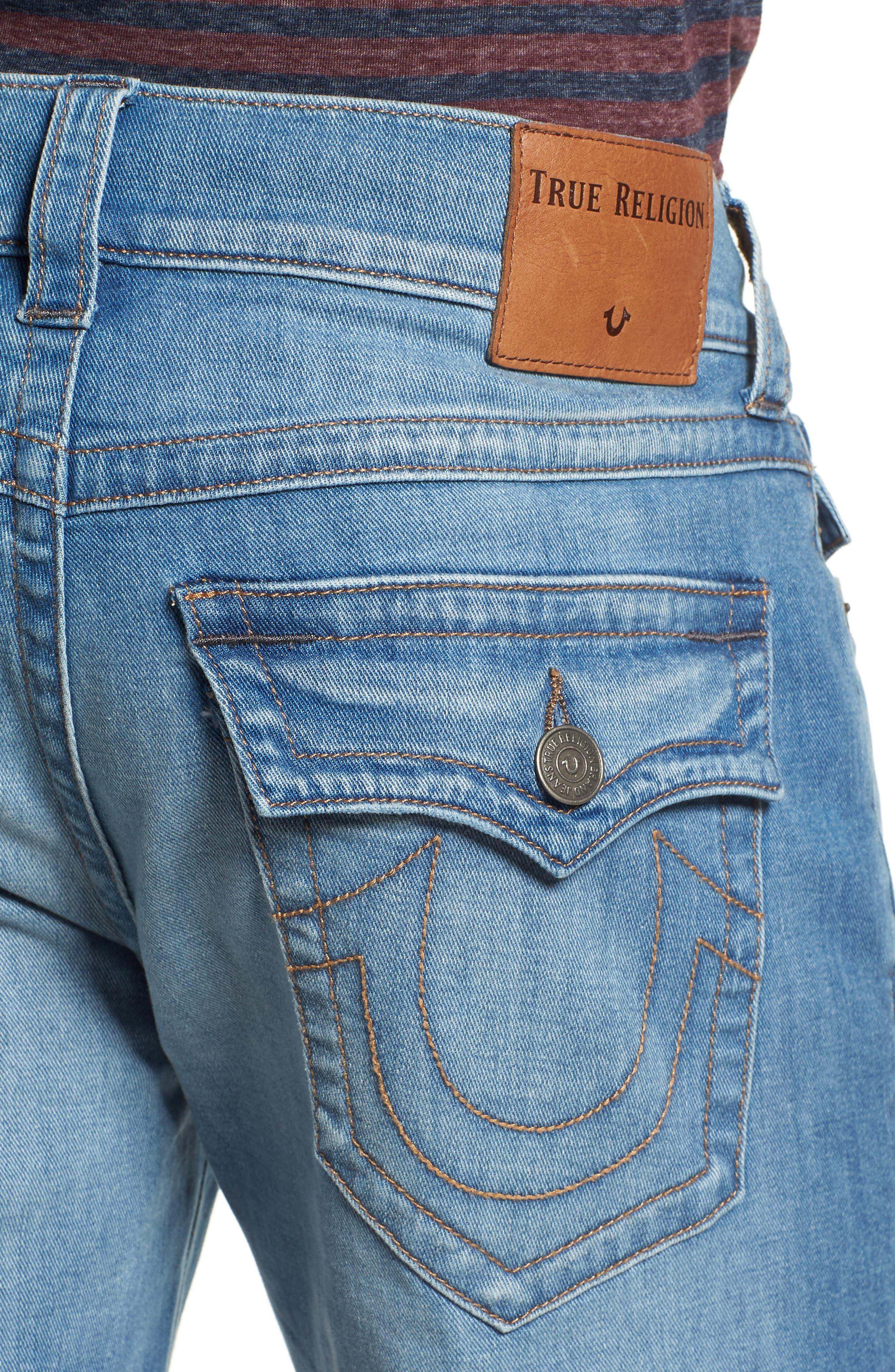 Alternate Image 4  - True Religion Brand Jeans Ricky Flap Pocket Shorts
