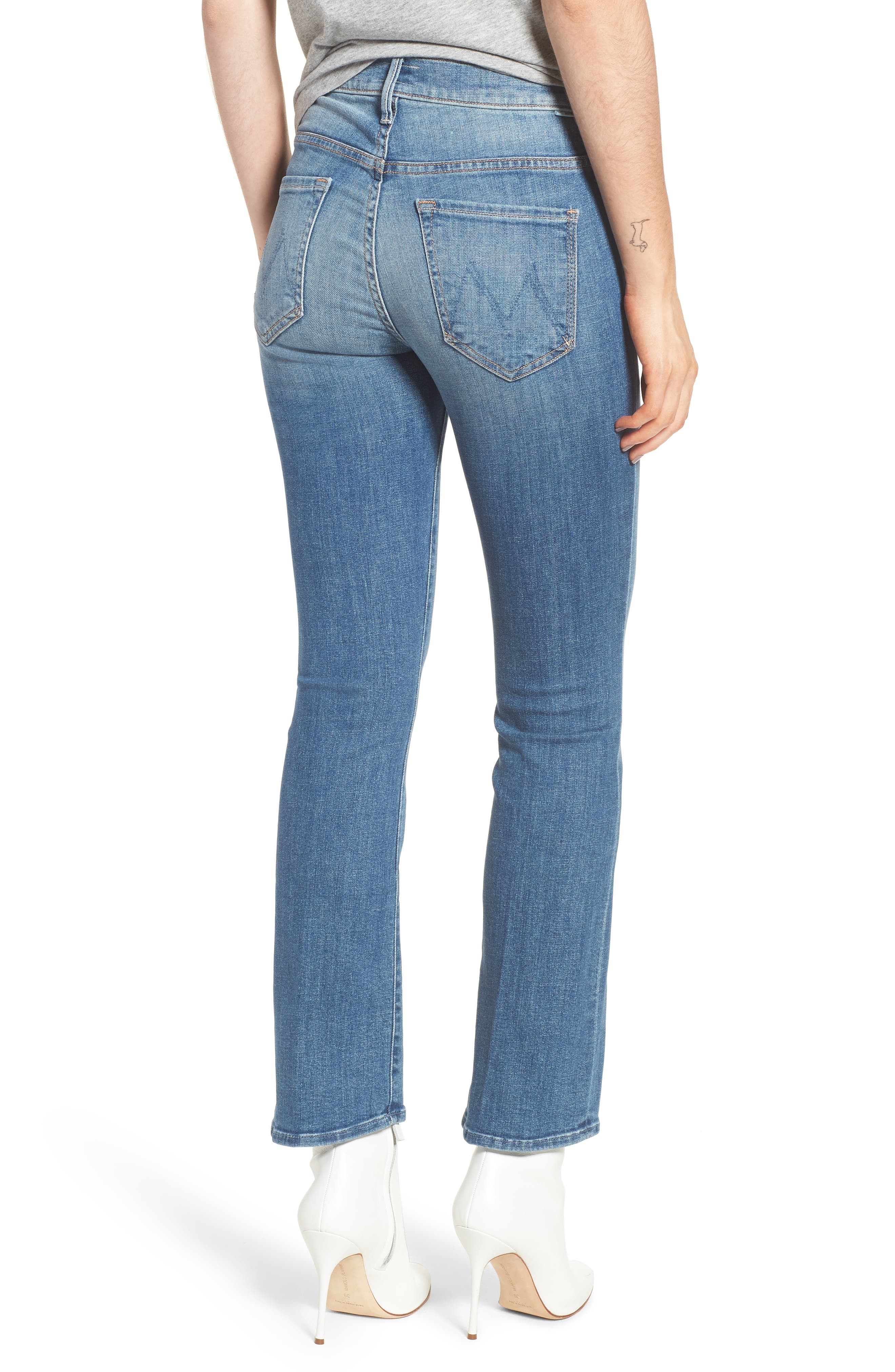 The Insider High Waist Ankle Bootcut Jeans,                             Alternate thumbnail 2, color,                             One Smart Cookie