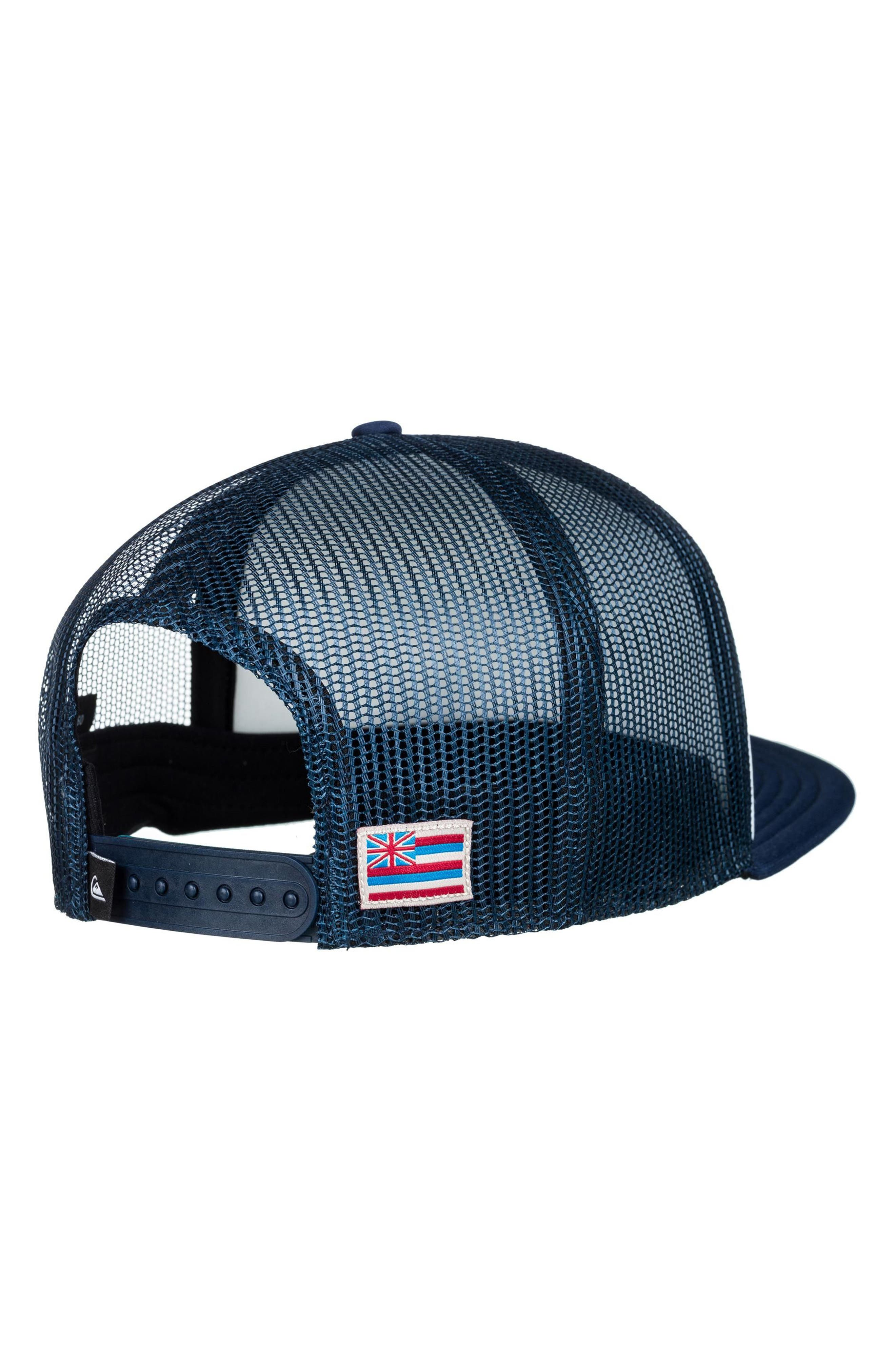 Rooster Graphic Trucker Hat,                             Alternate thumbnail 2, color,                             White